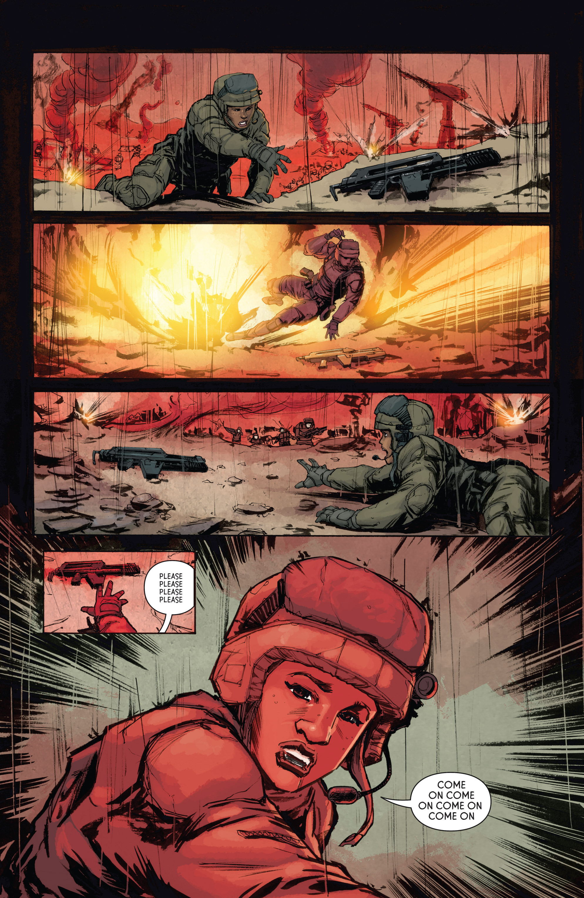 Read online Aliens: Defiance comic -  Issue #4 - 12