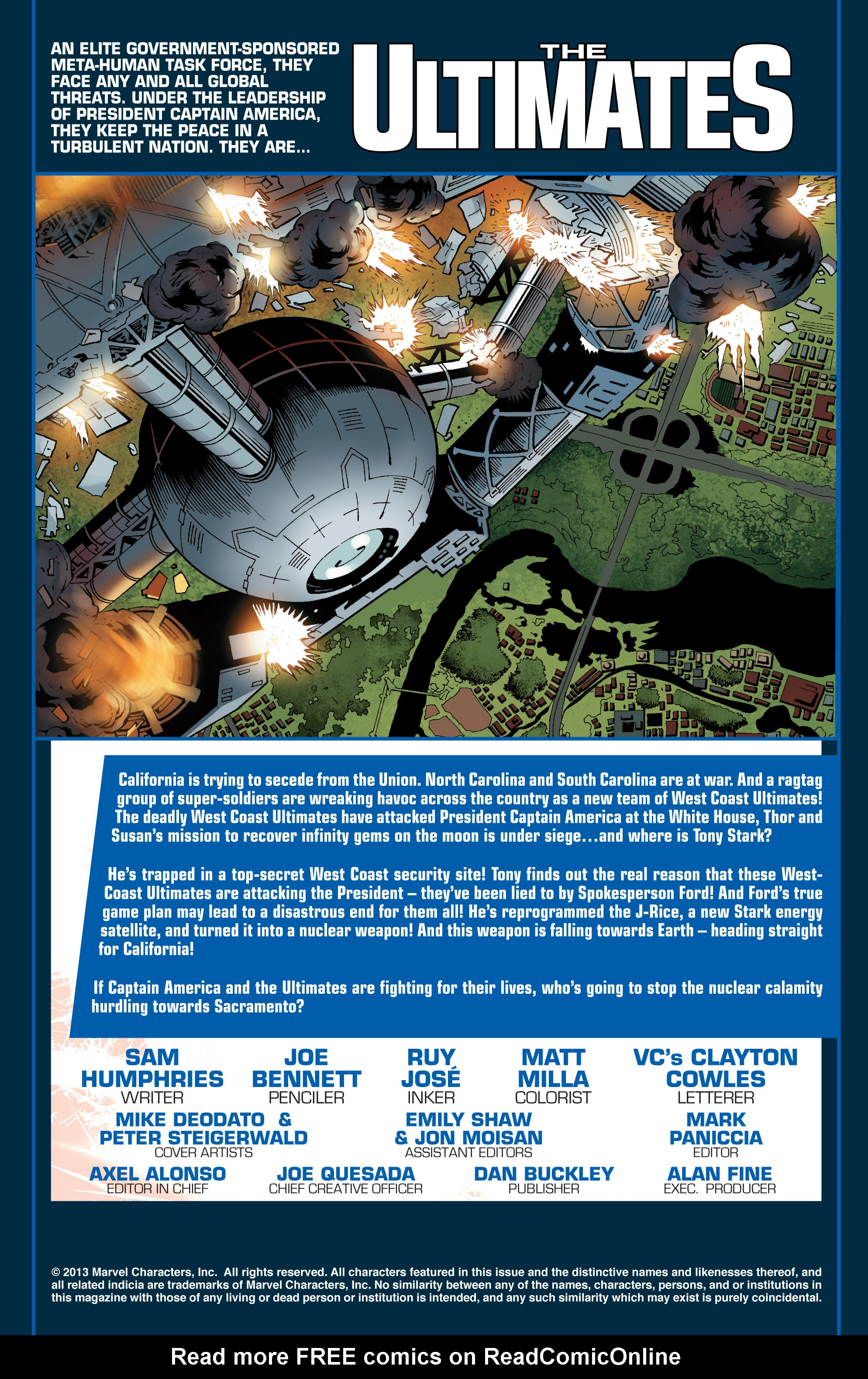 Read online Ultimate Comics Ultimates comic -  Issue #24 - 2