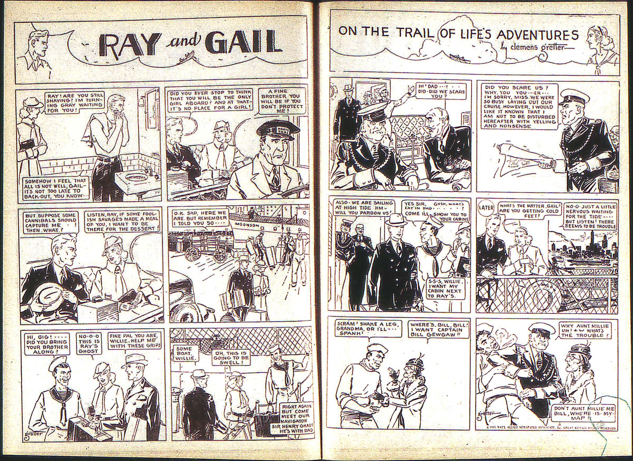 Read online Adventure Comics (1938) comic -  Issue #2 - 23