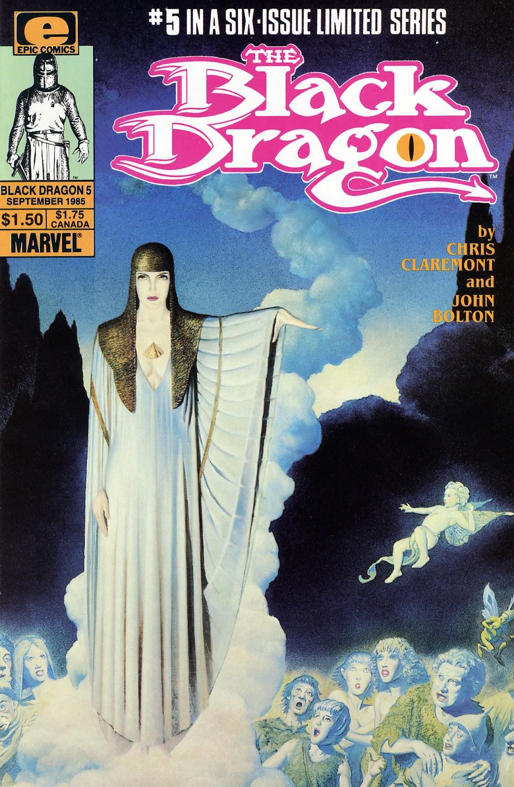 The Black Dragon (1985) 5 Page 1