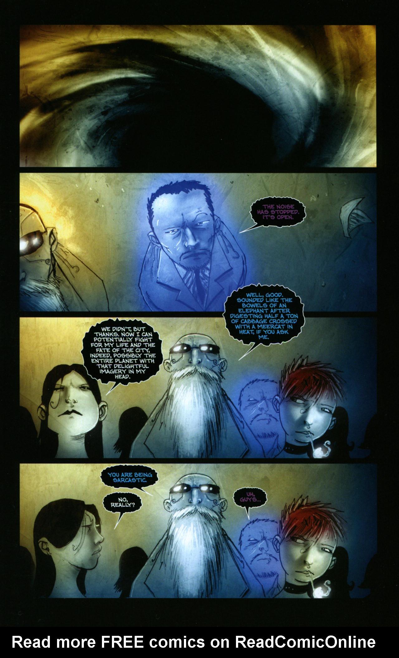 Read online Wormwood: Gentleman Corpse comic -  Issue #10 - 3