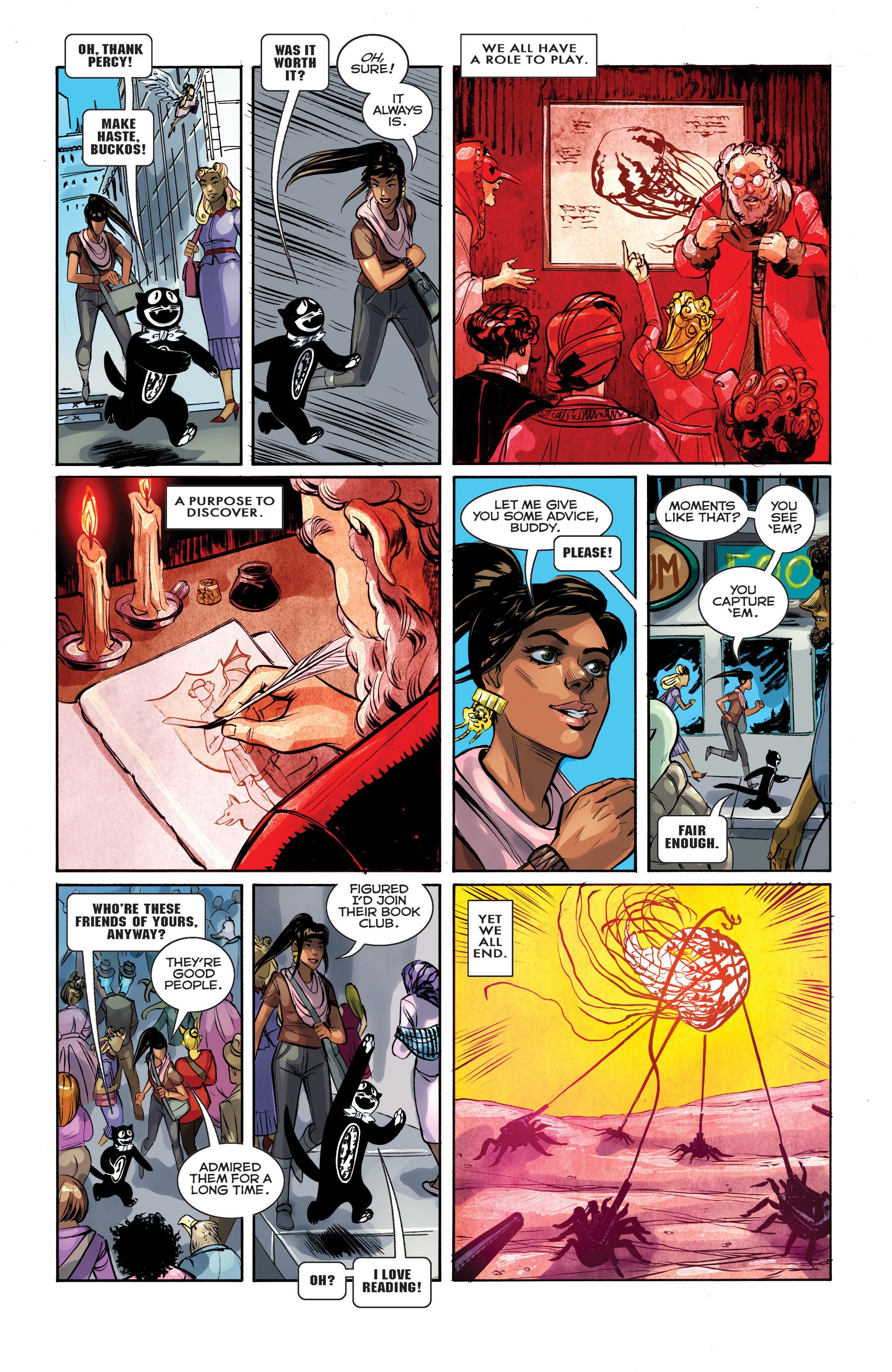 Read online Shutter comic -  Issue #25 - 6