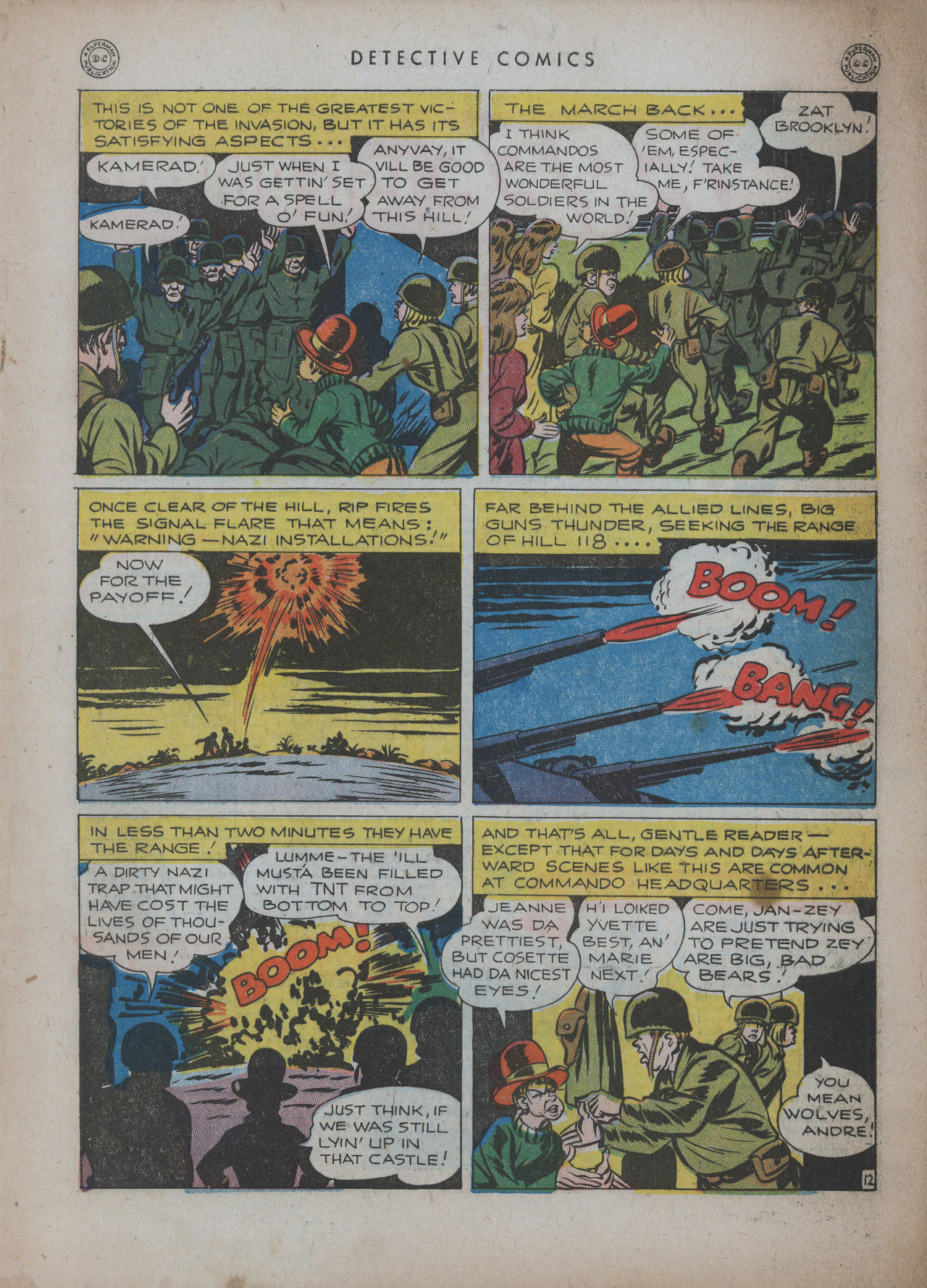 Read online Detective Comics (1937) comic -  Issue #94 - 49