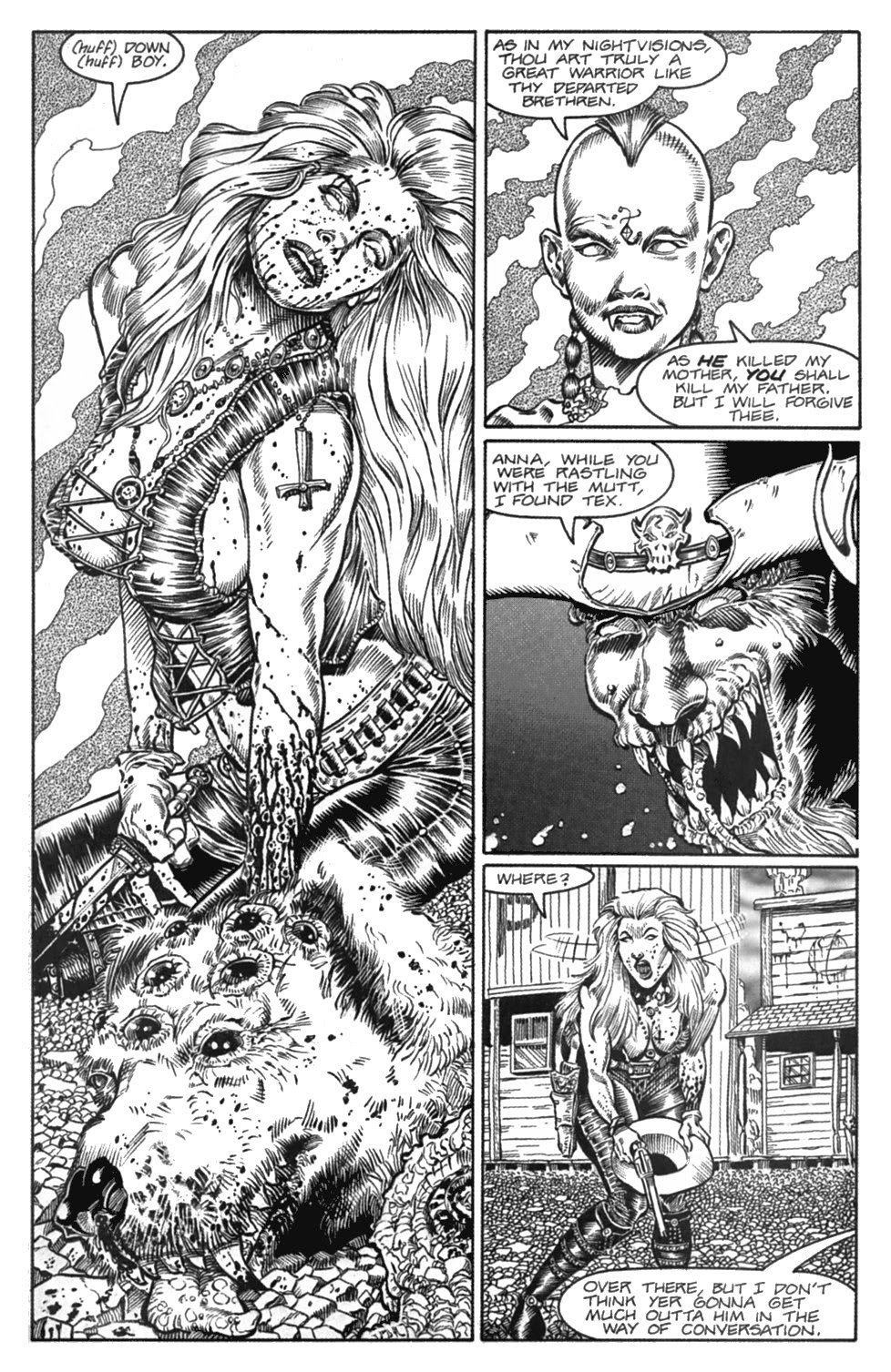 Read online Gunfighters in Hell comic -  Issue #4 - 13