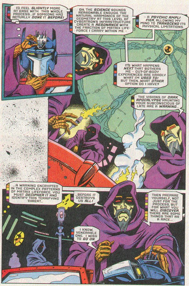 Read online Transformers: Generation 2 comic -  Issue #5 - 4