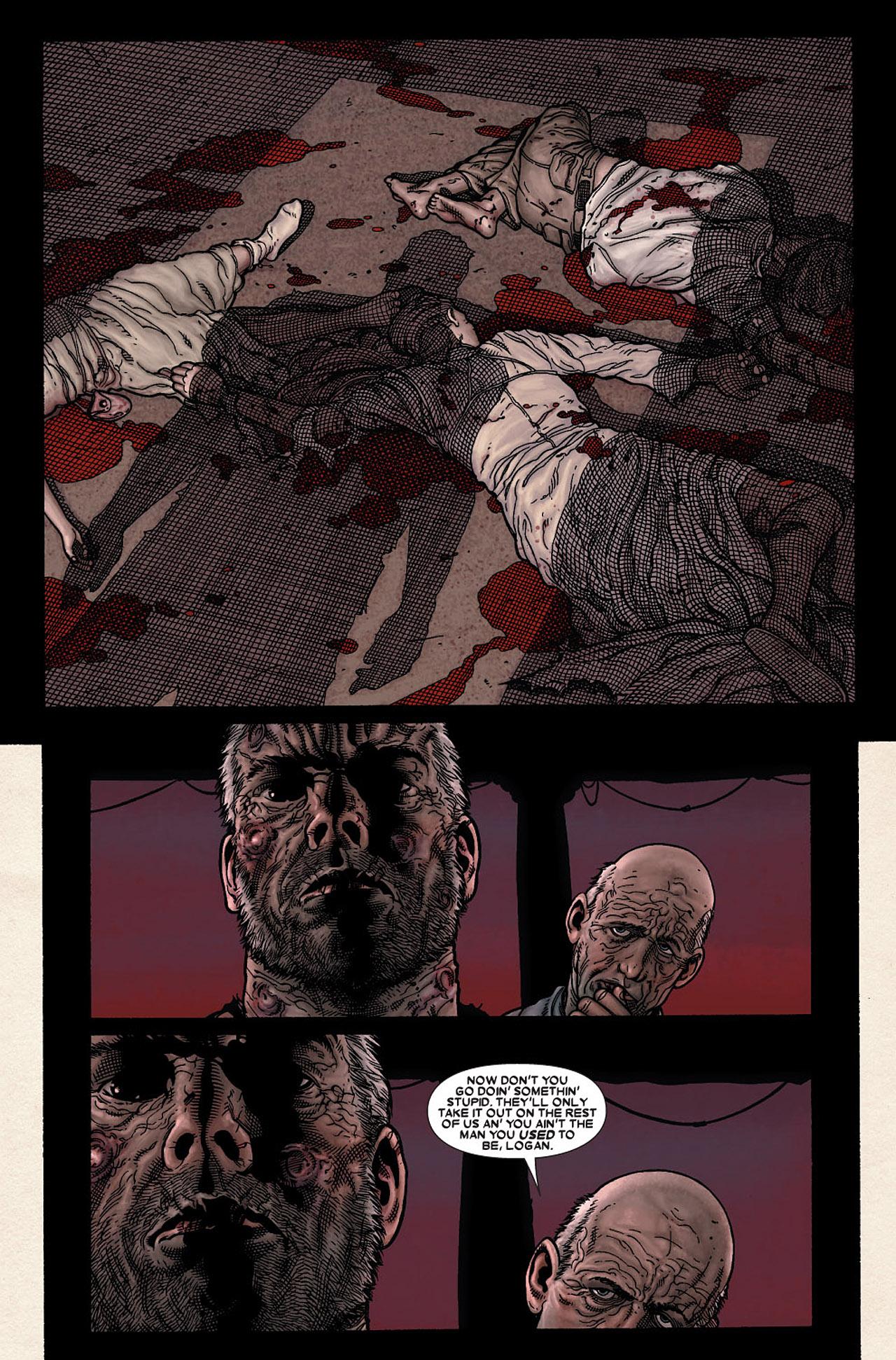 Read online Wolverine: Old Man Logan comic -  Issue # Full - 161