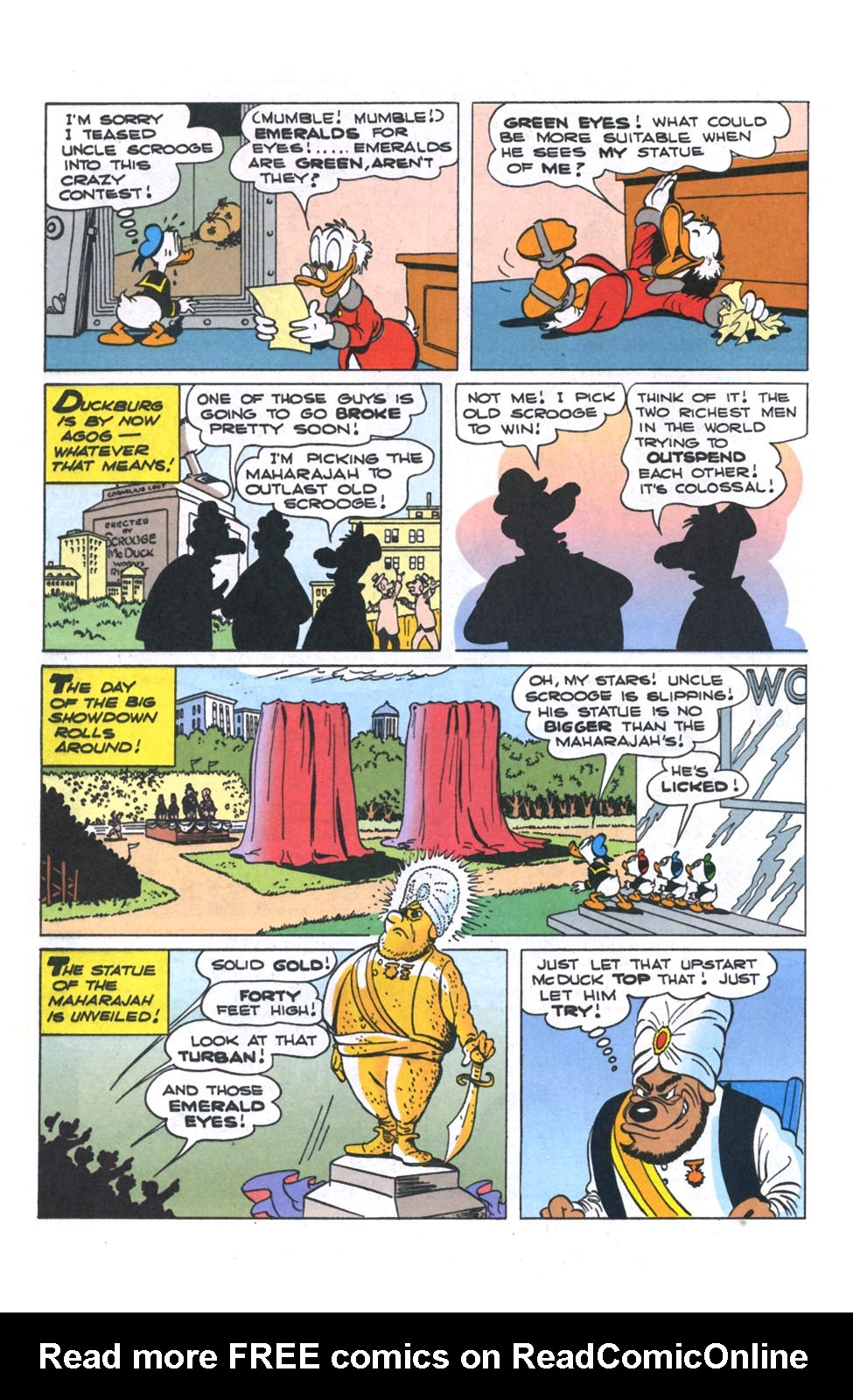 Read online Uncle Scrooge (1953) comic -  Issue #301 - 9