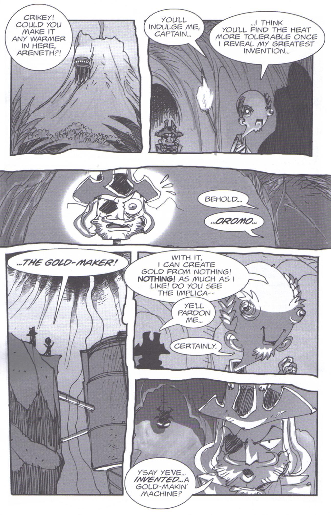 Read online Pirates vs. Ninjas: Global Harming comic -  Issue # Full - 19