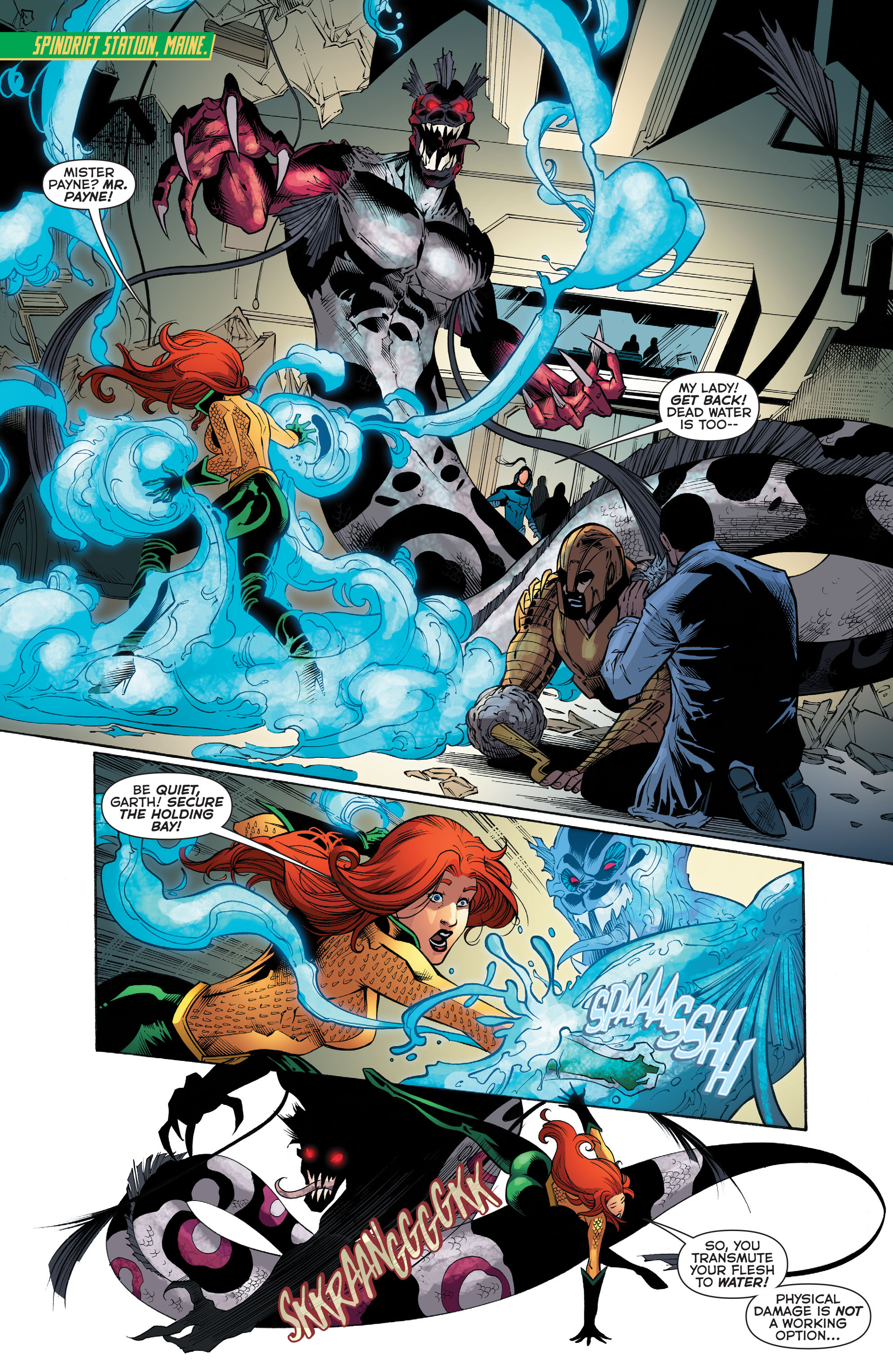 Read online Aquaman (2011) comic -  Issue #52 - 7