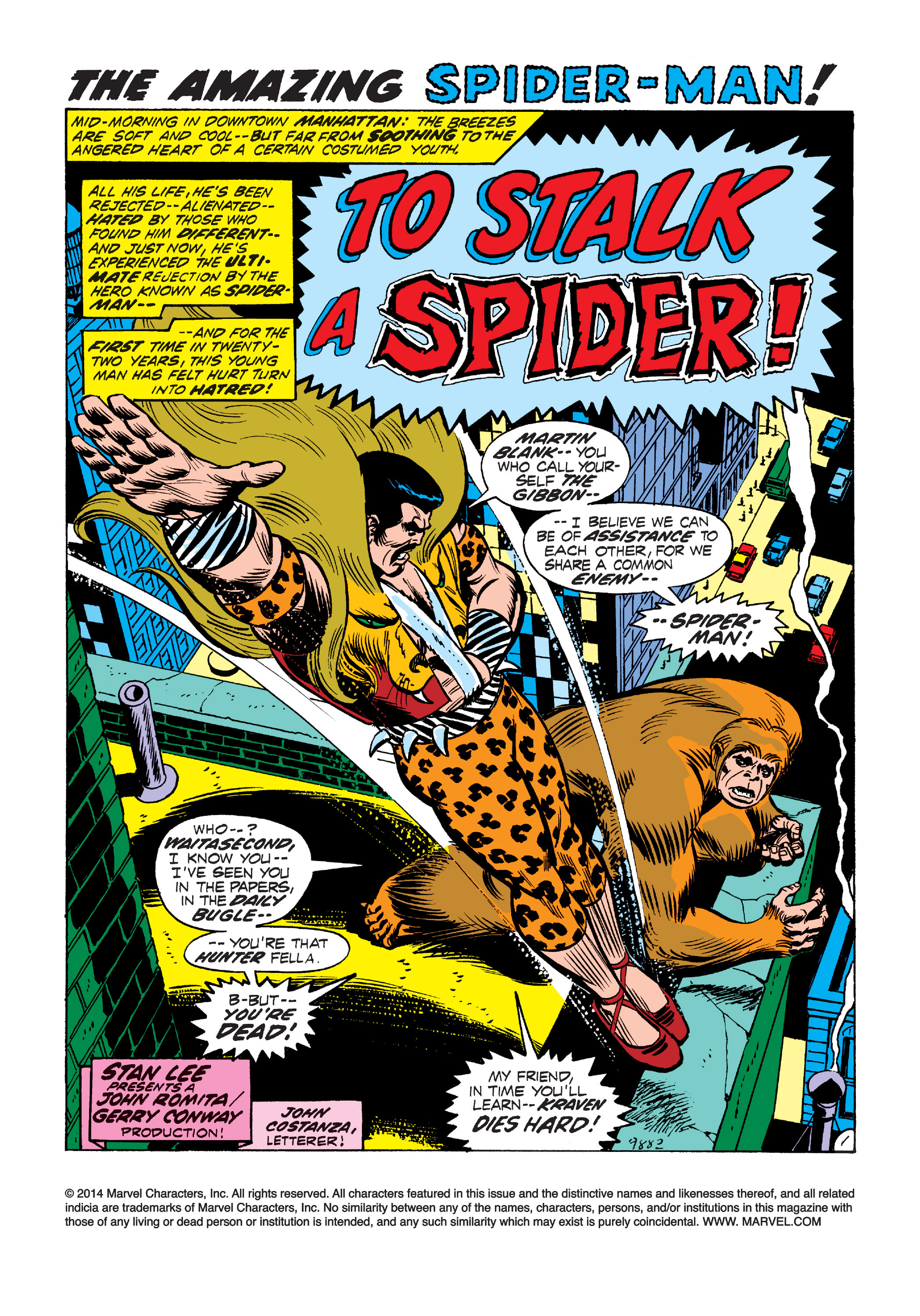 The Amazing Spider-Man (1963) 111 Page 1