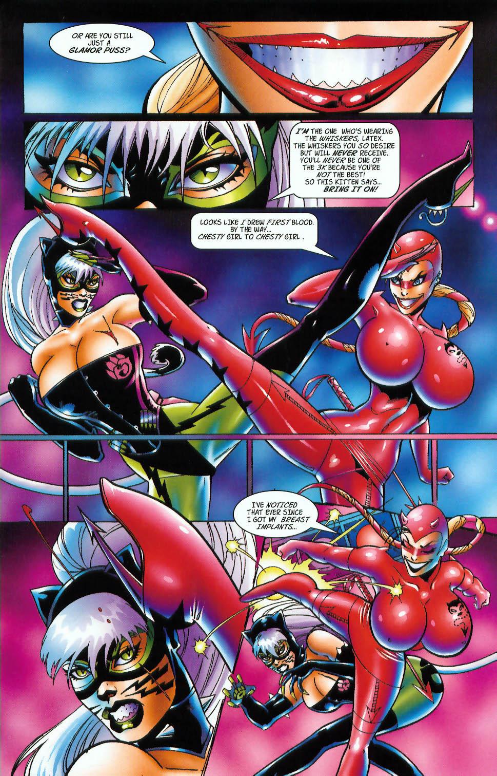 Read online 3 Little Kittens: Purrr-fect Weapons comic -  Issue #3 - 17