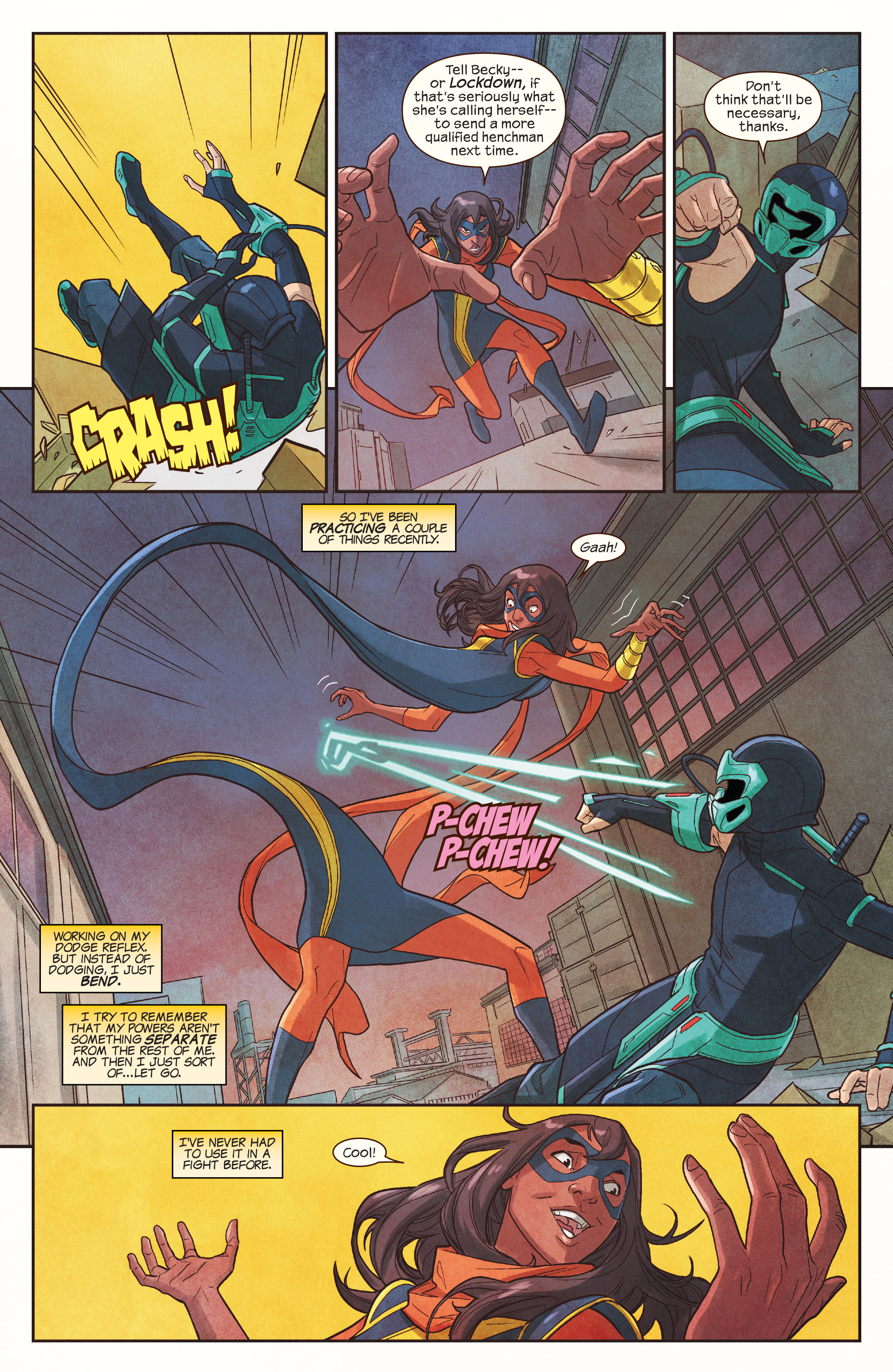 Read online Ms. Marvel (2016) comic -  Issue #19 - 15