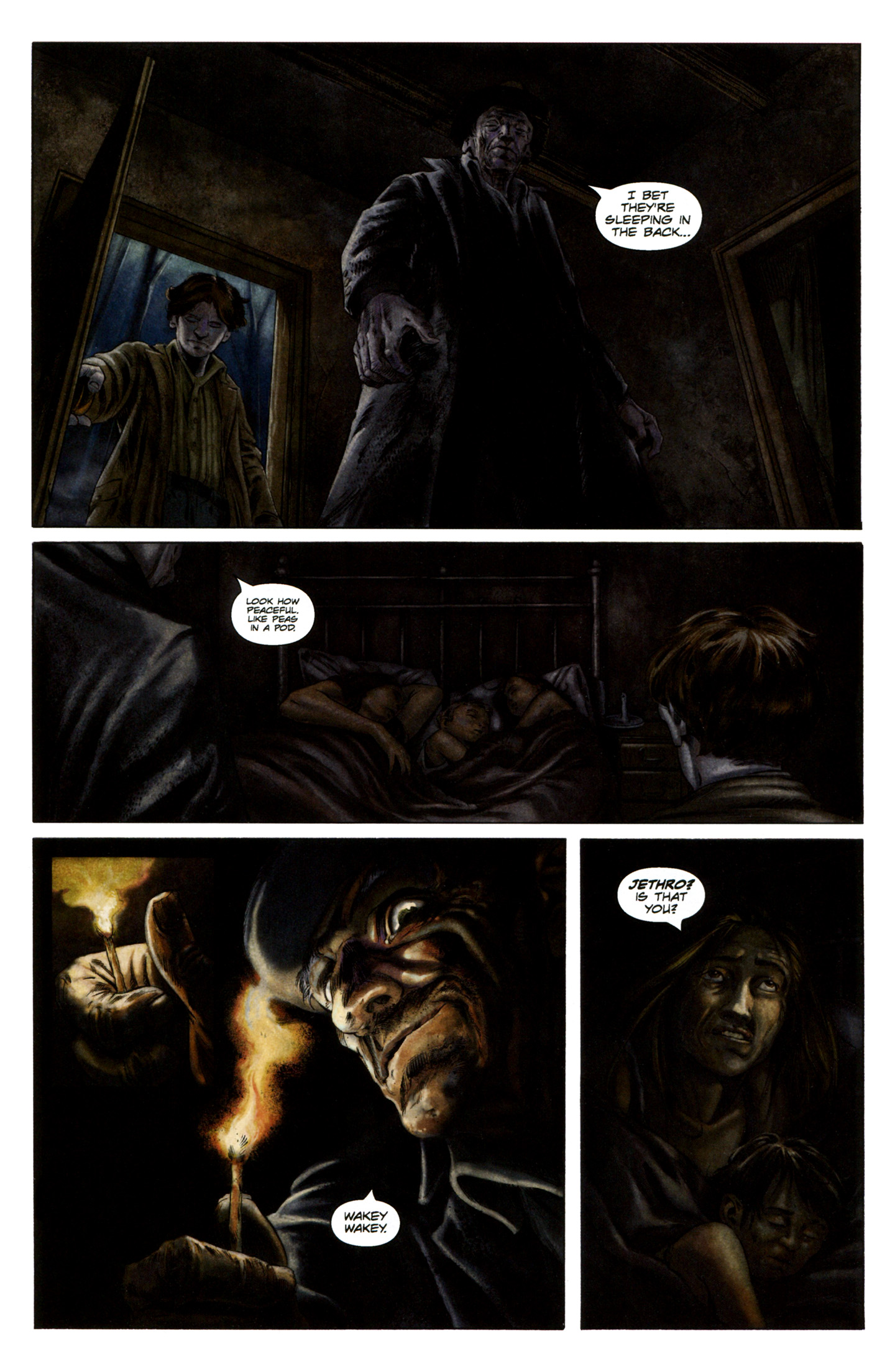 Read online Severed comic -  Issue #5 - 9