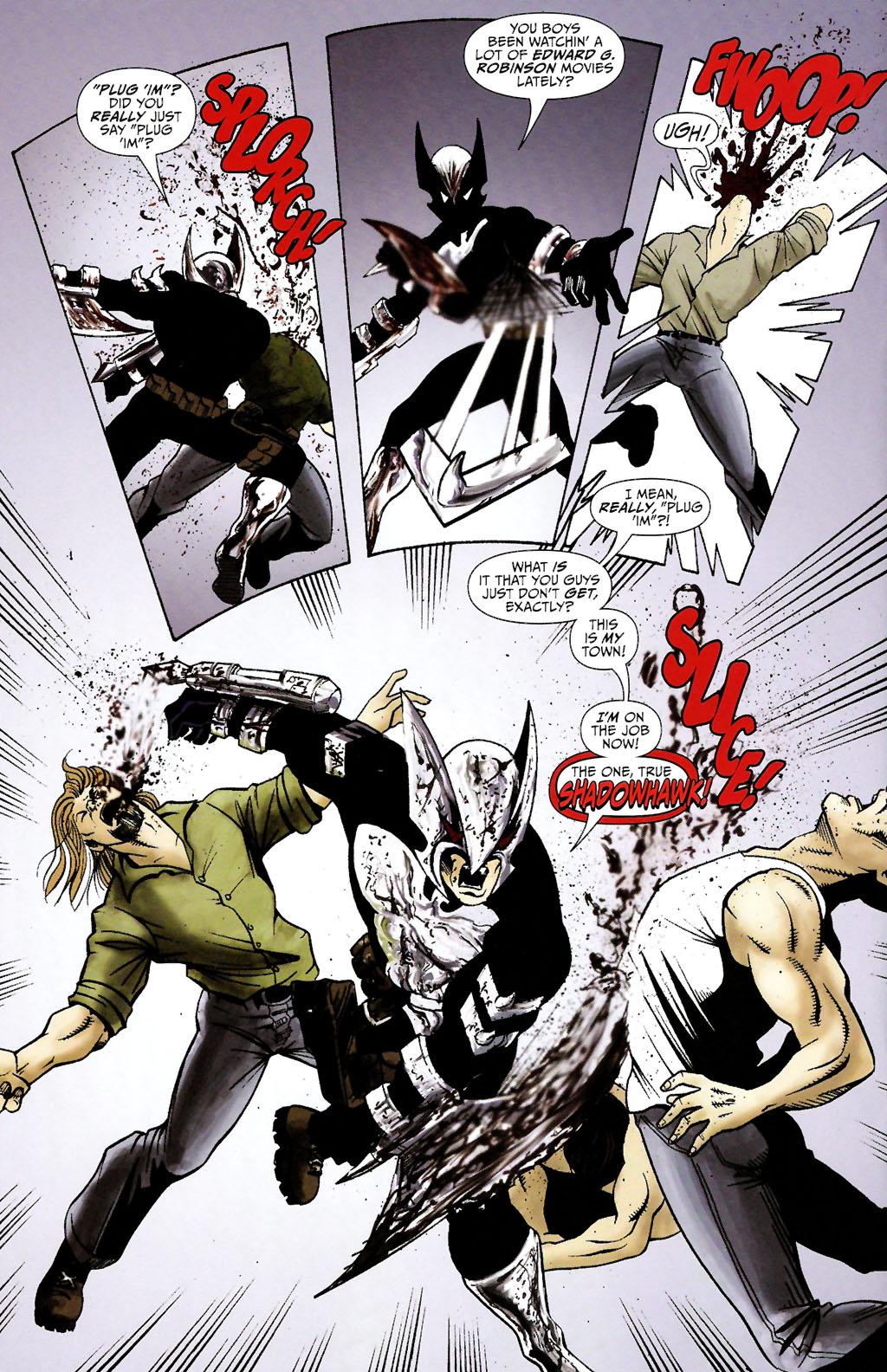 Read online ShadowHawk (2005) comic -  Issue #11 - 18