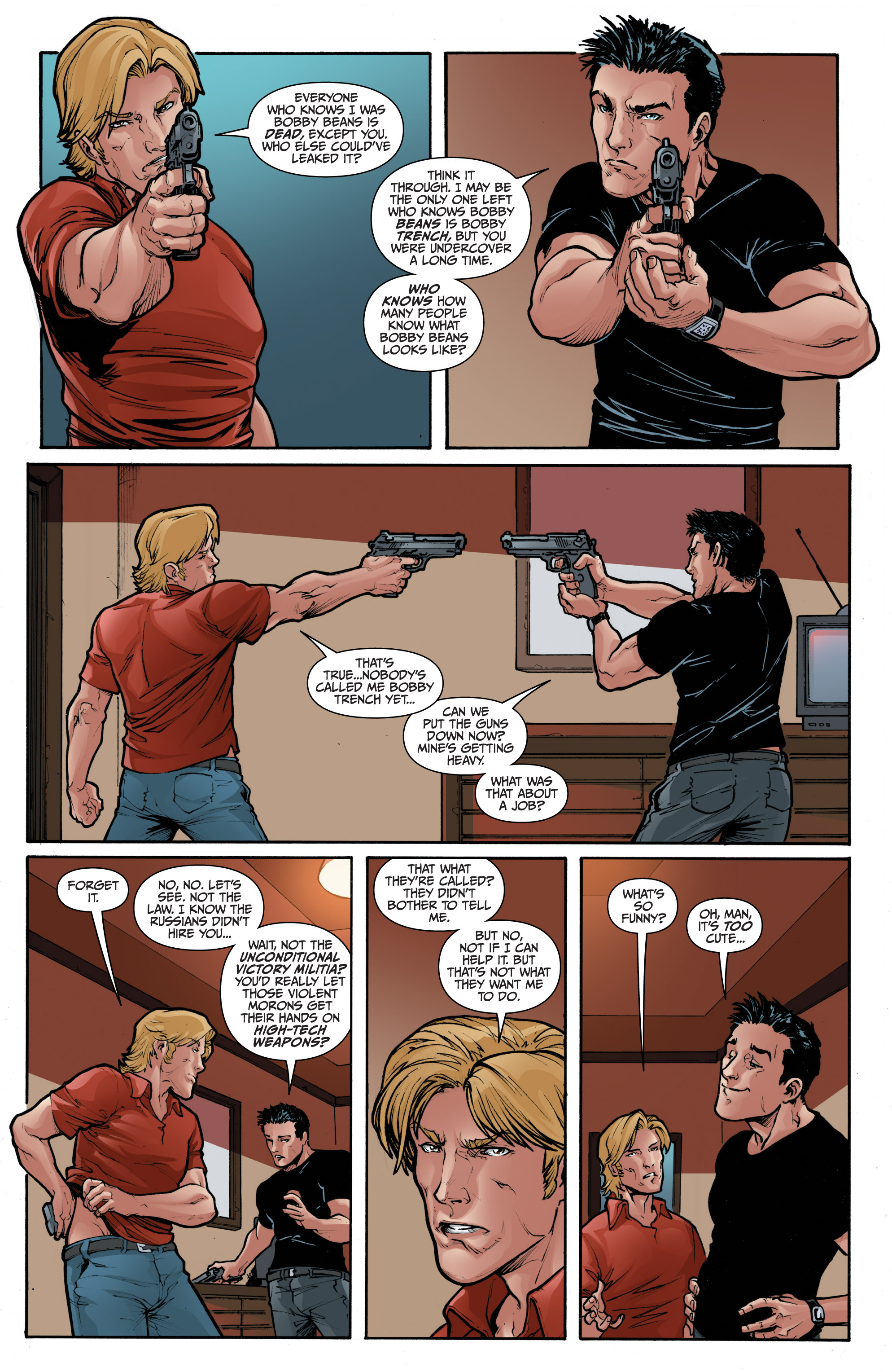 Read online 3 Guns comic -  Issue #1 - 14