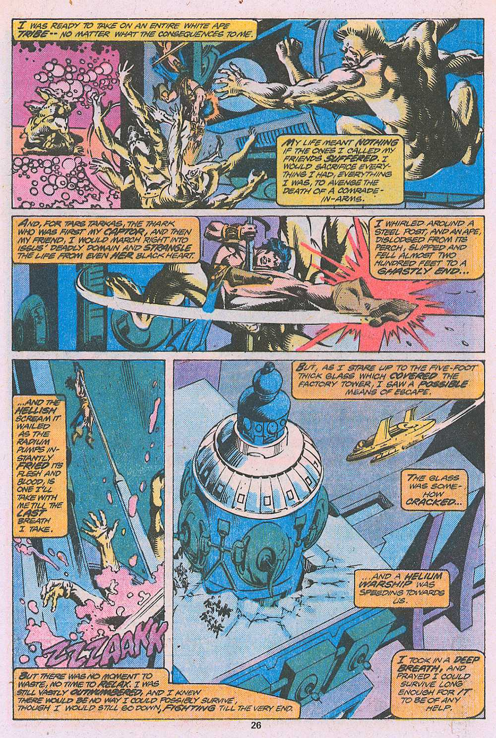 John Carter Warlord of Mars issue 2 - Page 28