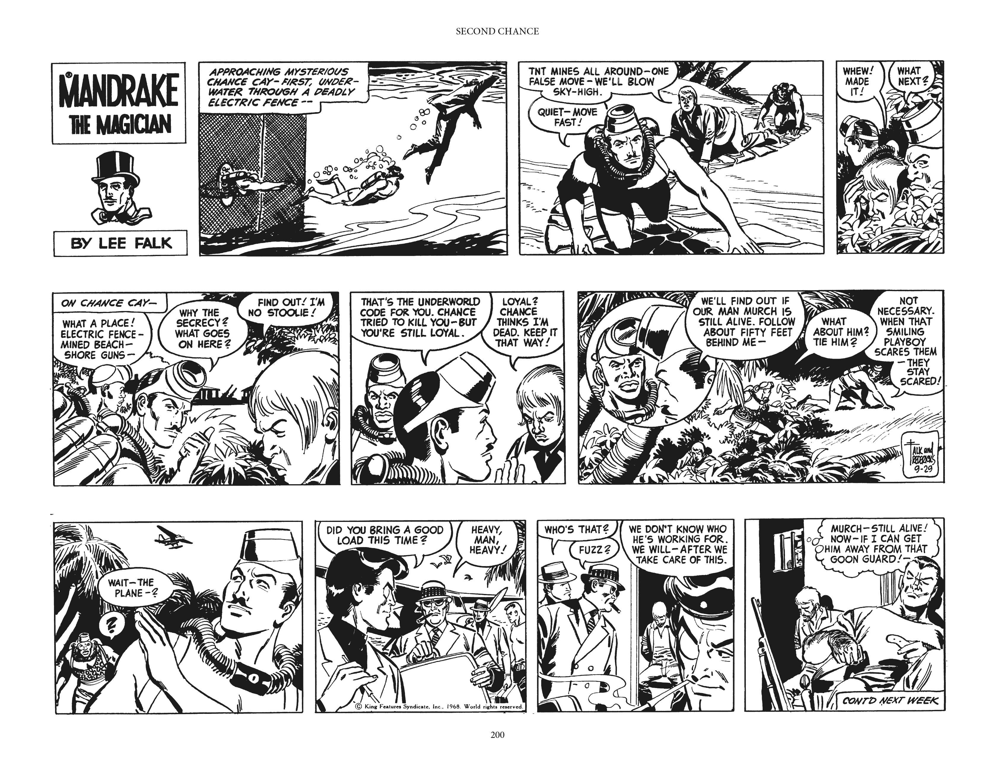 Mandrake the Magician: The Fred Fredricks Sundays TPB_(Part_3) Page 1