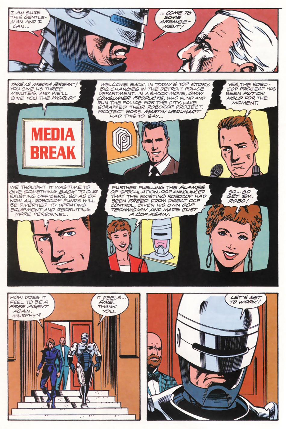 Read online Robocop (1990) comic -  Issue #15 - 23
