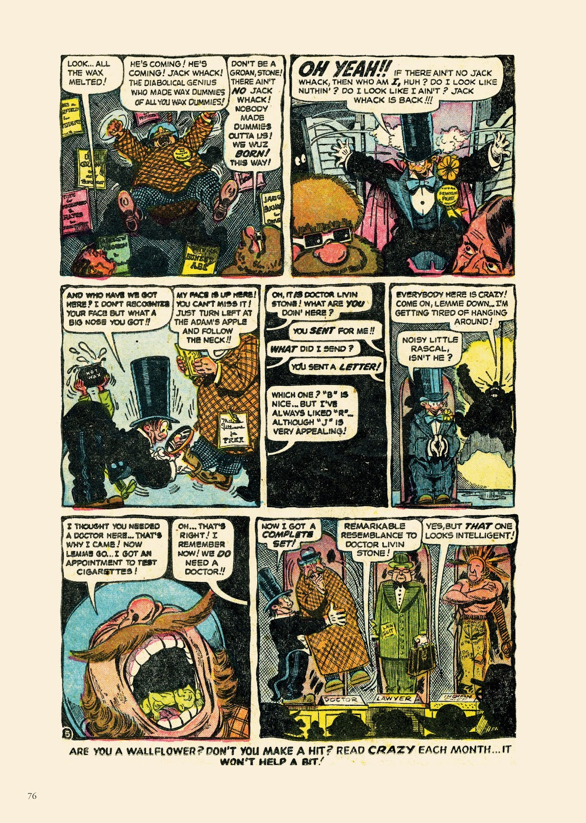 Read online Sincerest Form of Parody: The Best 1950s MAD-Inspired Satirical Comics comic -  Issue # TPB (Part 1) - 77