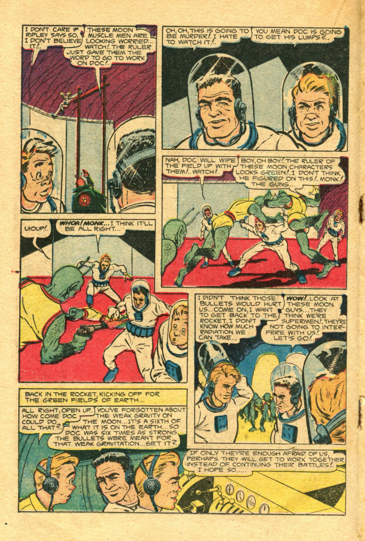 Read online Shadow Comics comic -  Issue #98 - 26