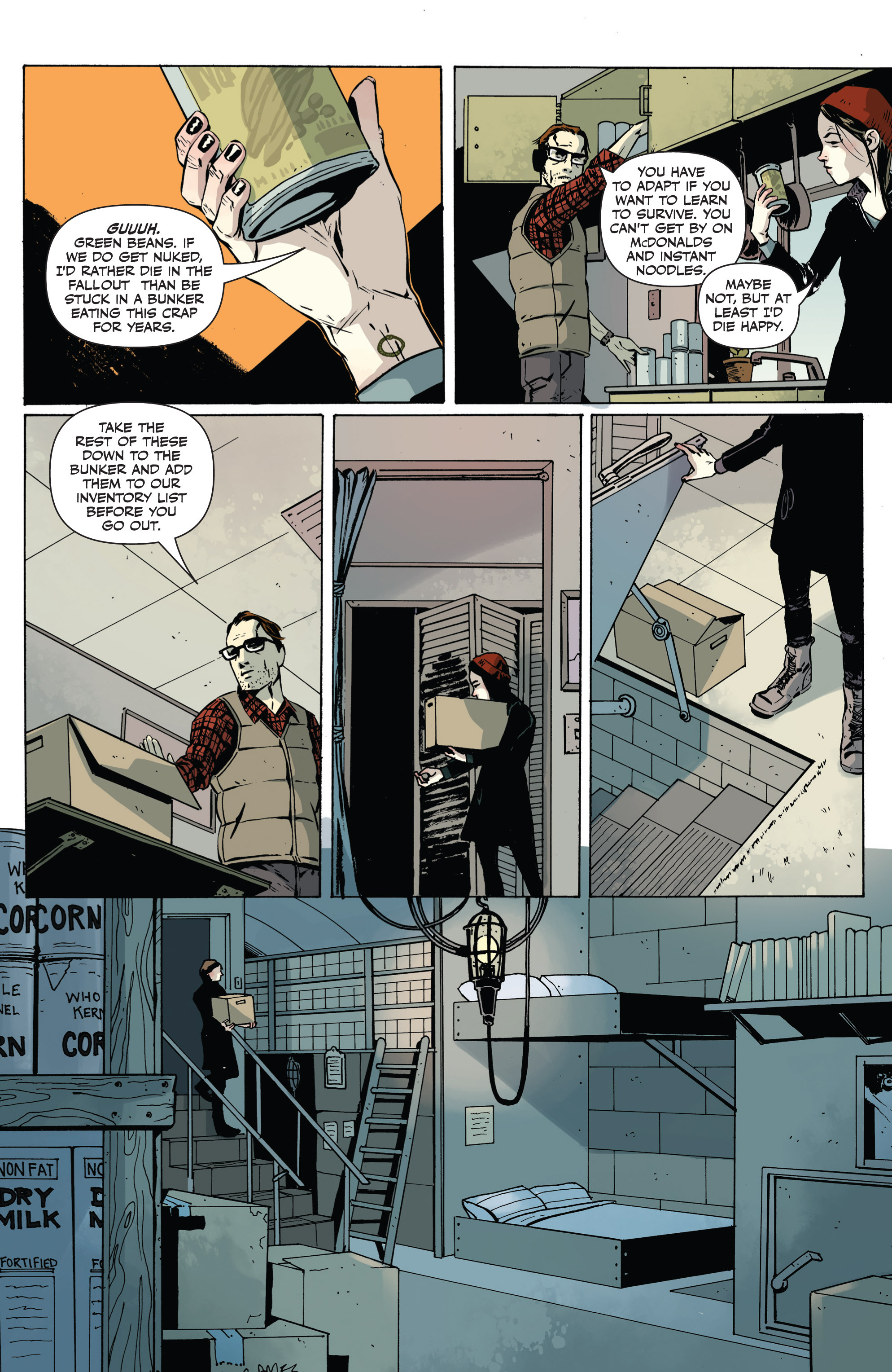 Read online Sheltered comic -  Issue #1 - 6
