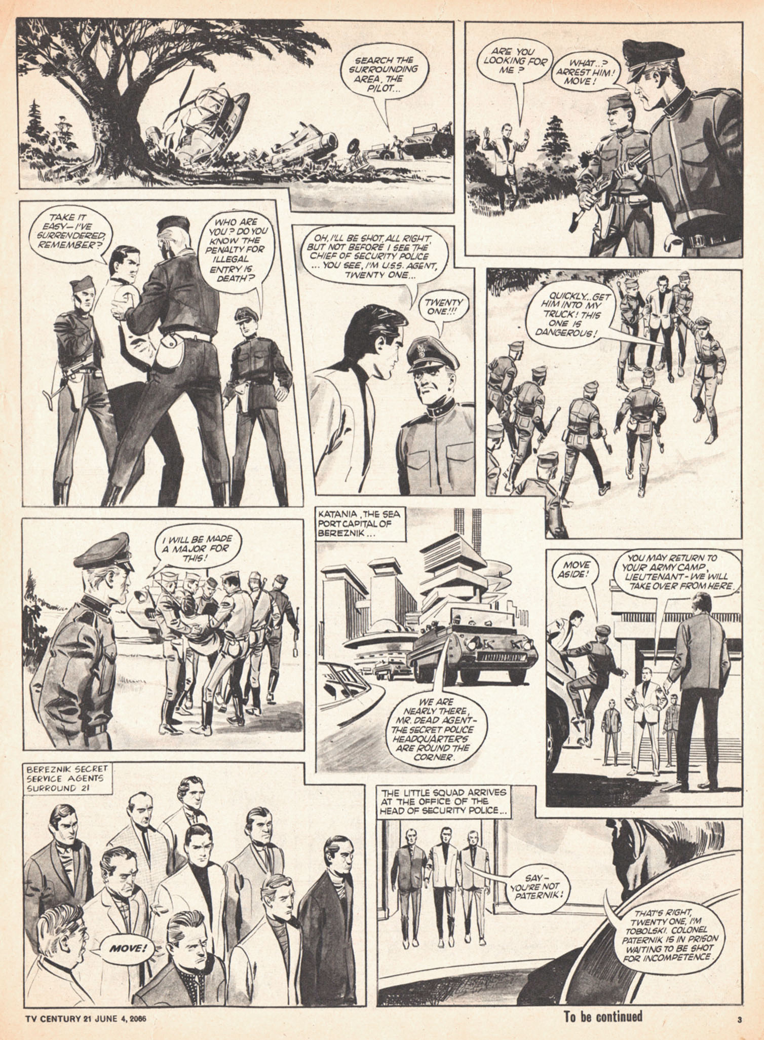 Read online TV Century 21 (TV 21) comic -  Issue #72 - 3