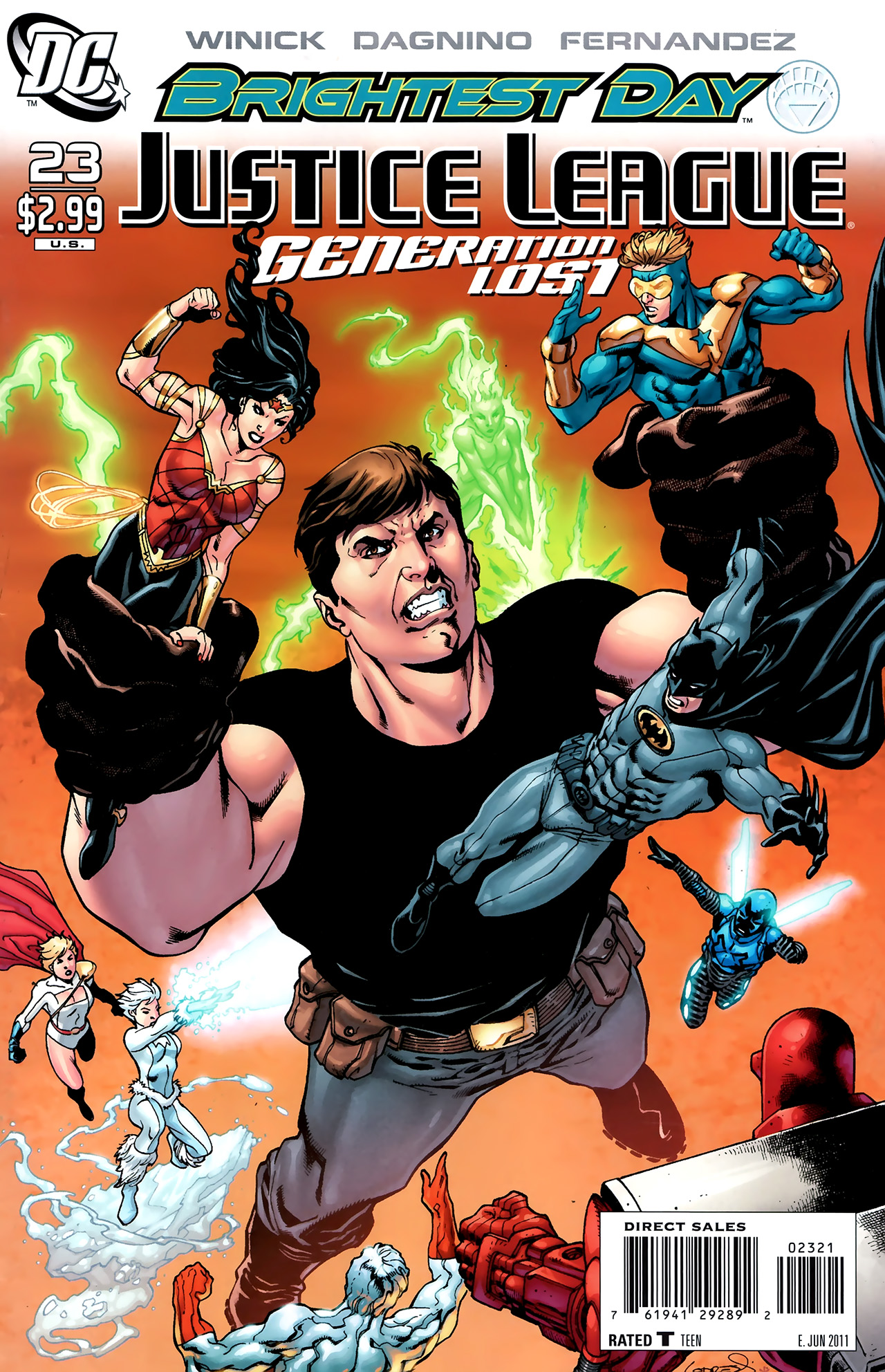 Read online Justice League: Generation Lost comic -  Issue #23 - 2