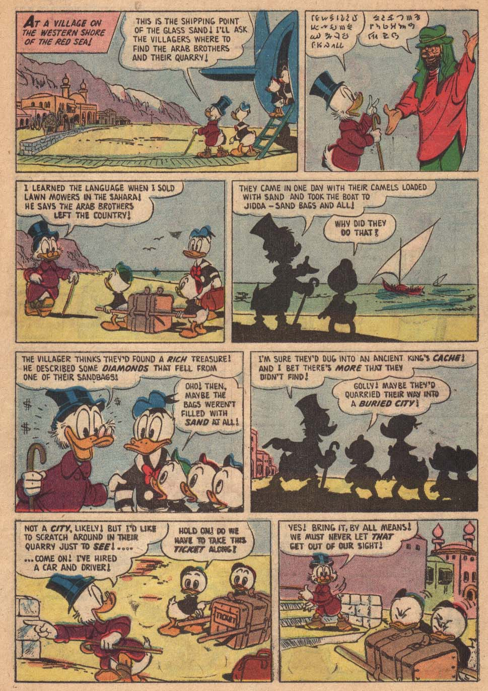 Read online Uncle Scrooge (1953) comic -  Issue #19 - 10