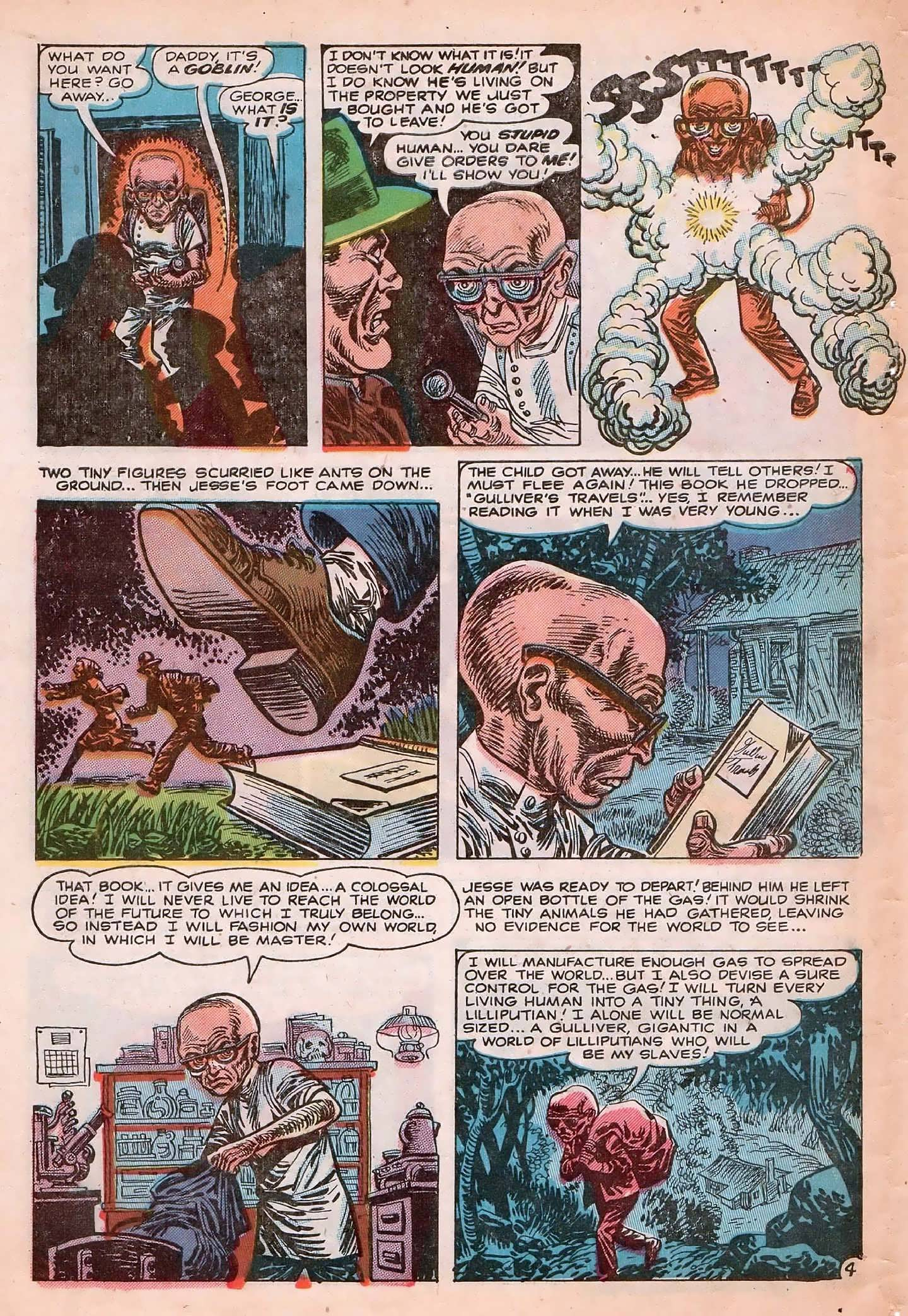 Read online Adventures into Weird Worlds comic -  Issue #20 - 6