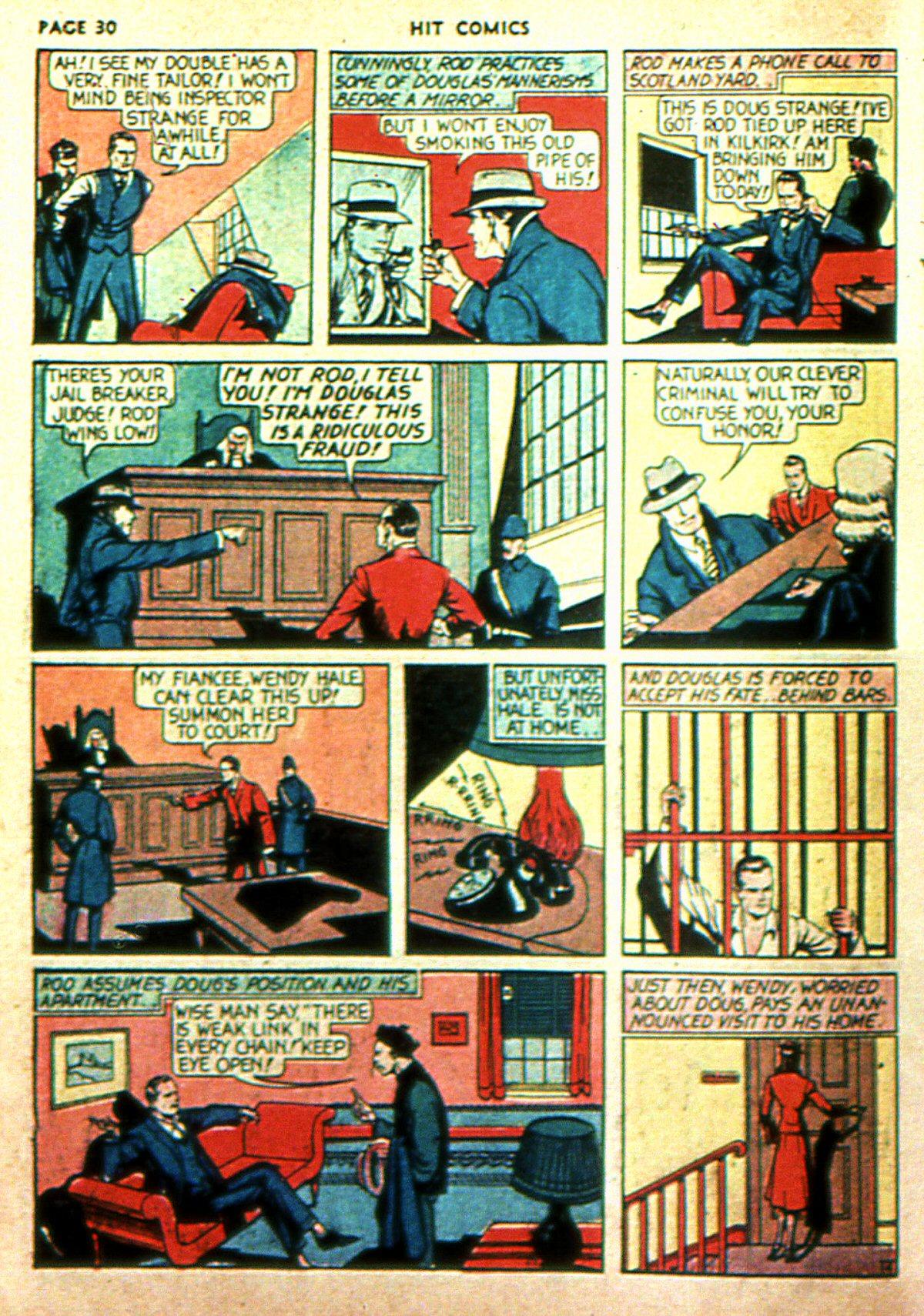 Read online Hit Comics comic -  Issue #2 - 32