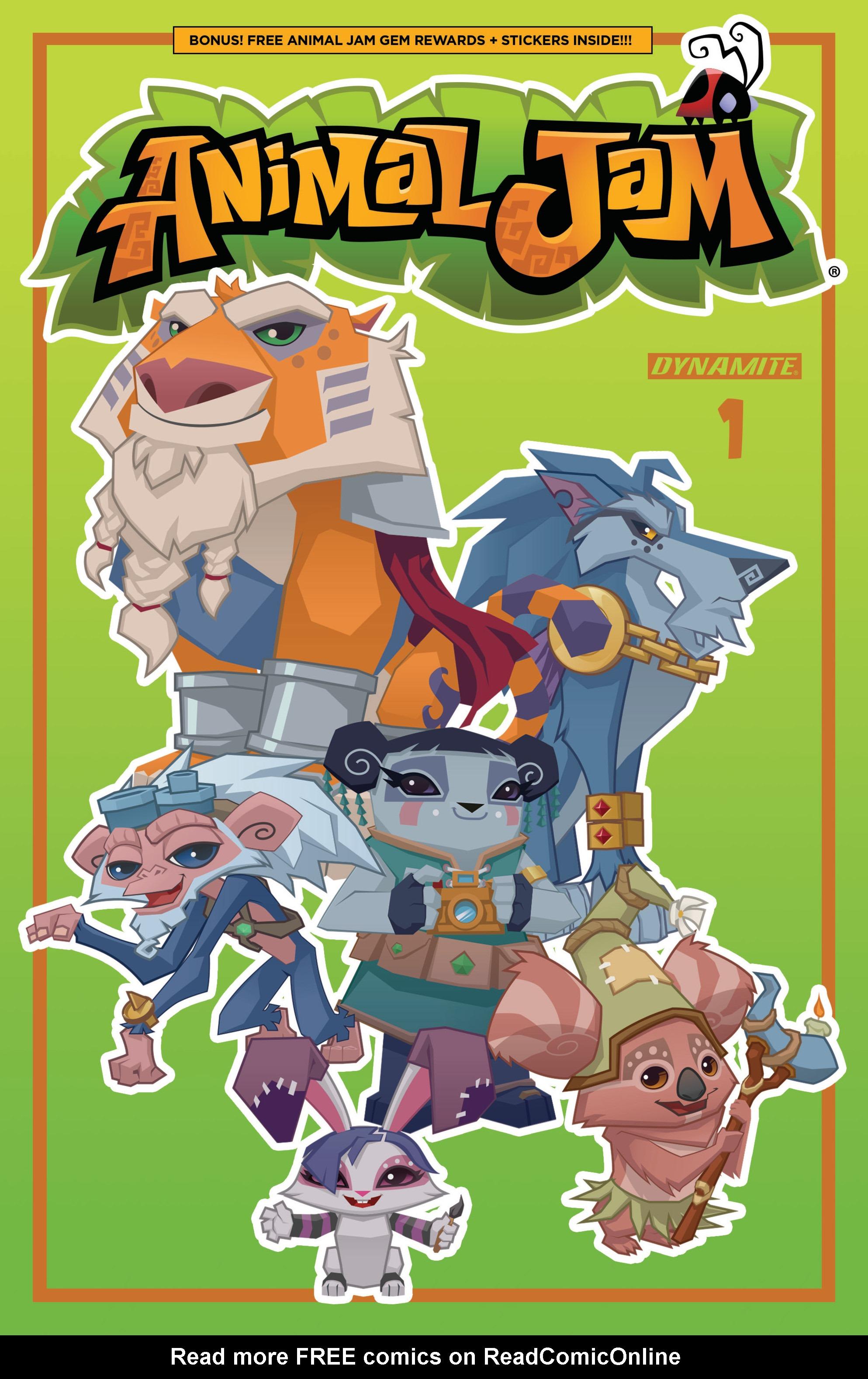 Read online Animal Jam comic -  Issue #1 - 3