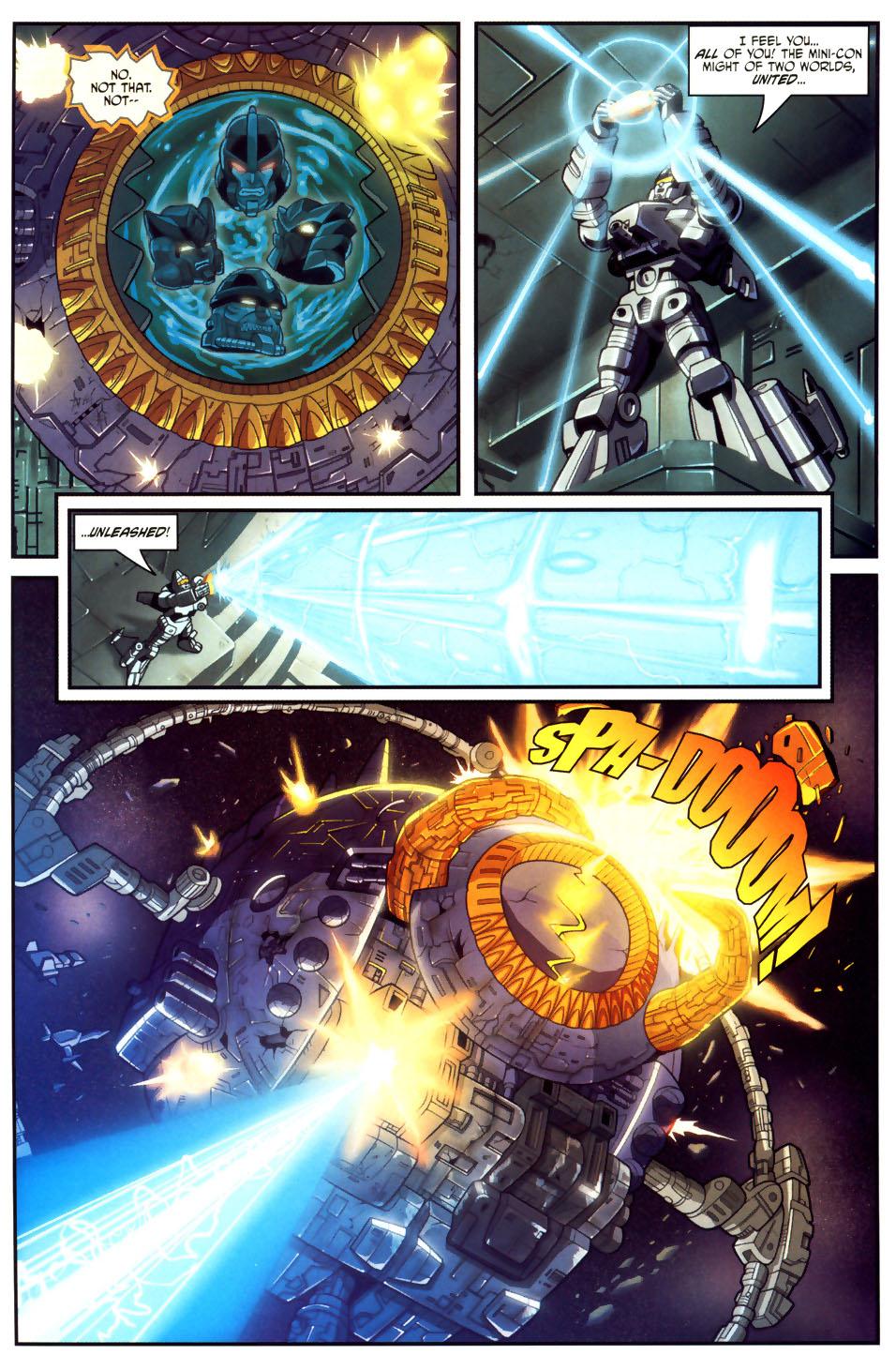Read online Transformers Armada comic -  Issue #18 - 20