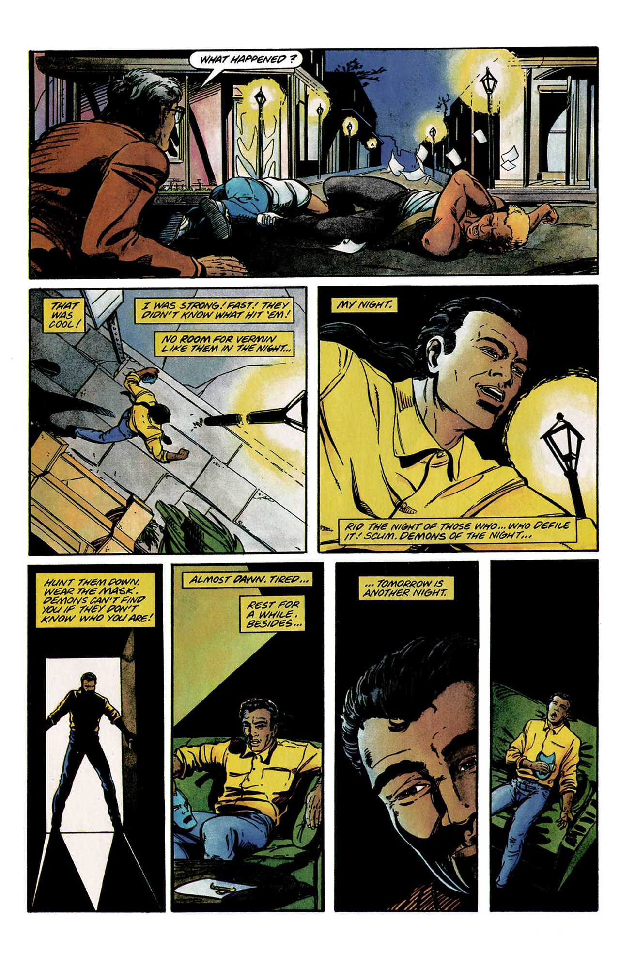 Read online Shadowman (1992) comic -  Issue #2 - 8