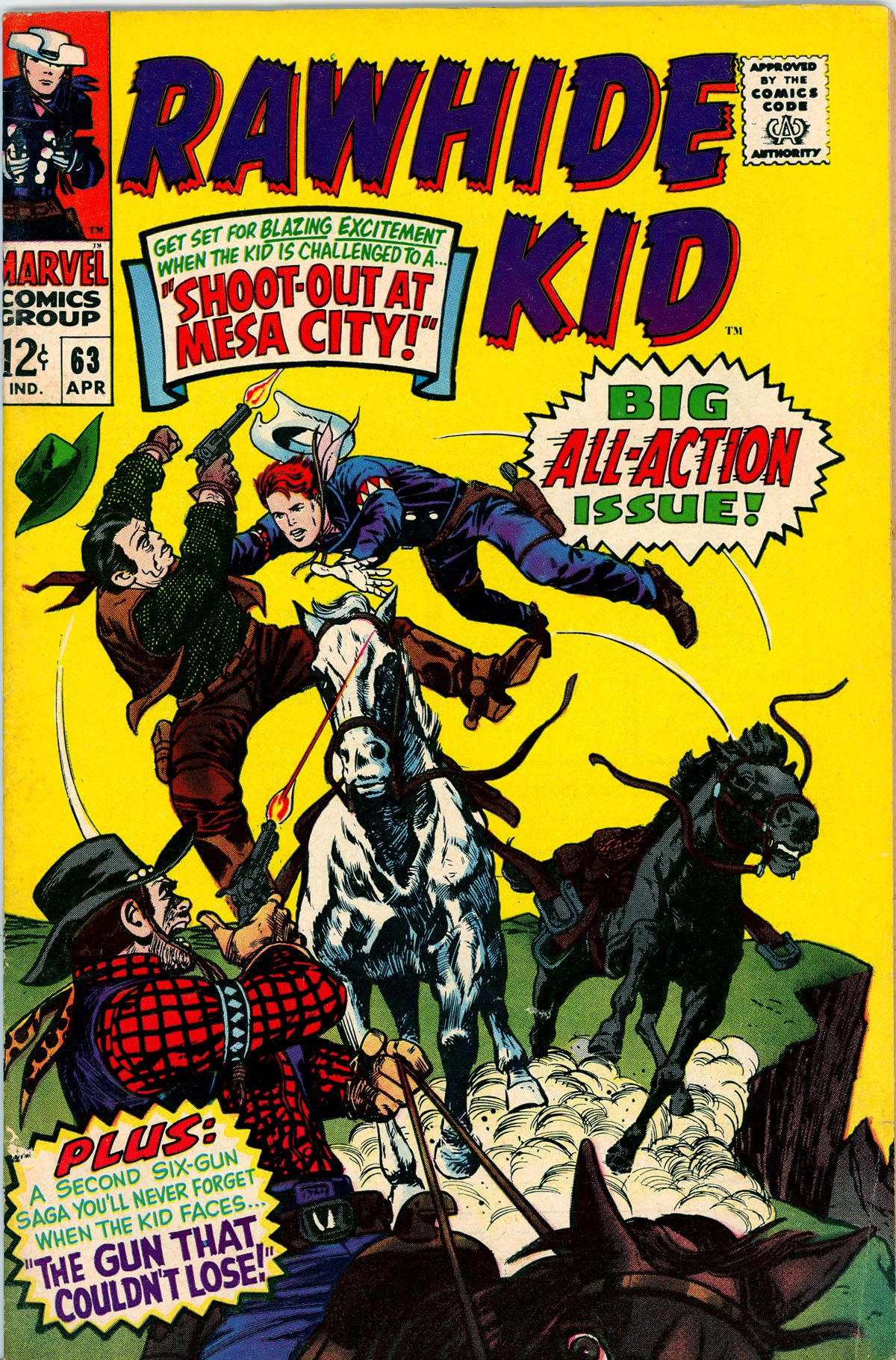 The Rawhide Kid (1955) 63 Page 1