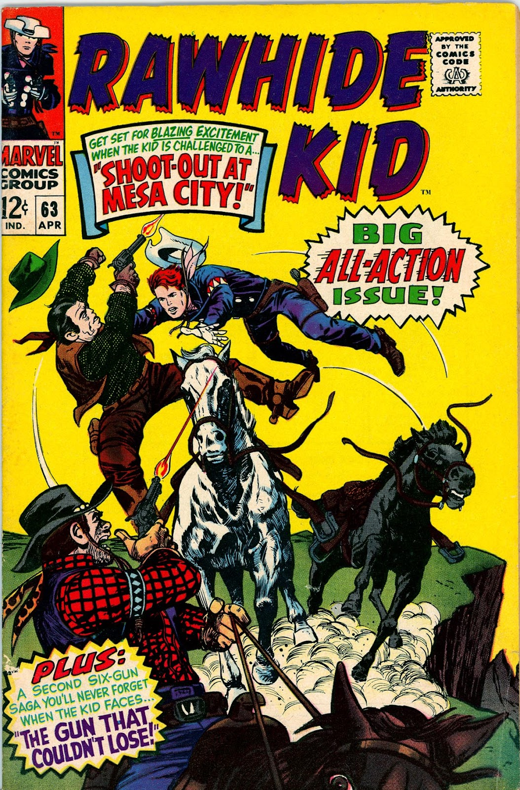 The Rawhide Kid (1955) issue 63 - Page 1