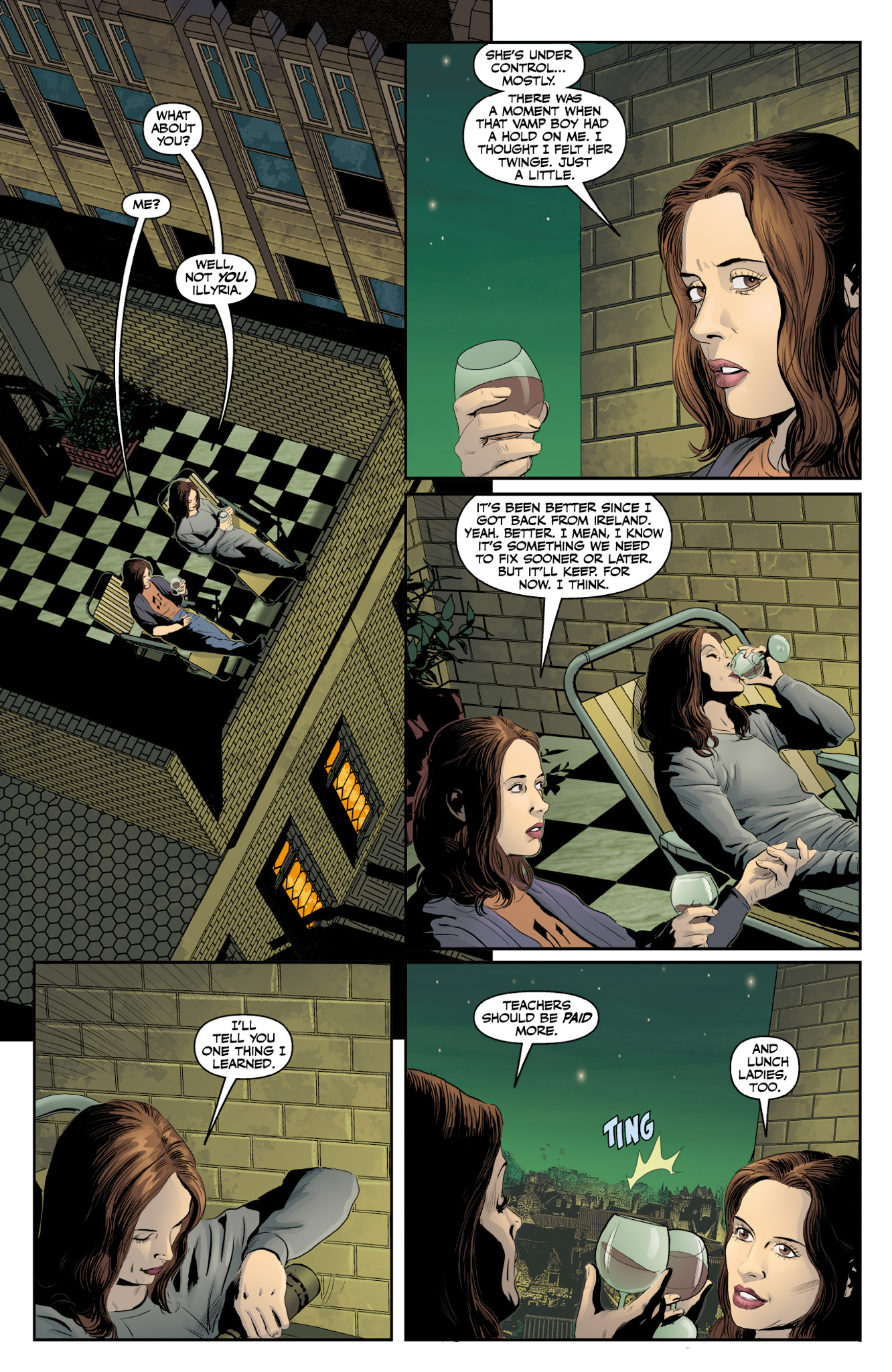 Read online Angel & Faith Season 10 comic -  Issue #18 - 22