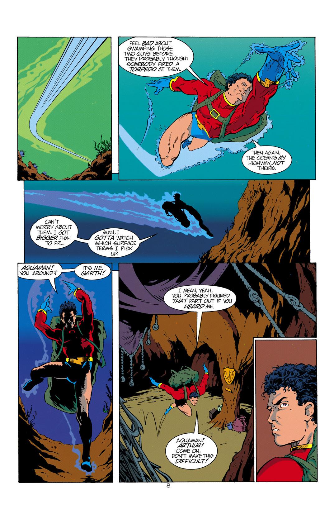 Read online Aquaman (1994) comic -  Issue #1 - 9