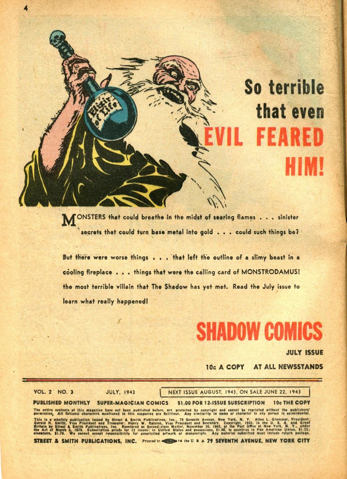Read online Super-Magician Comics comic -  Issue #15 - 4