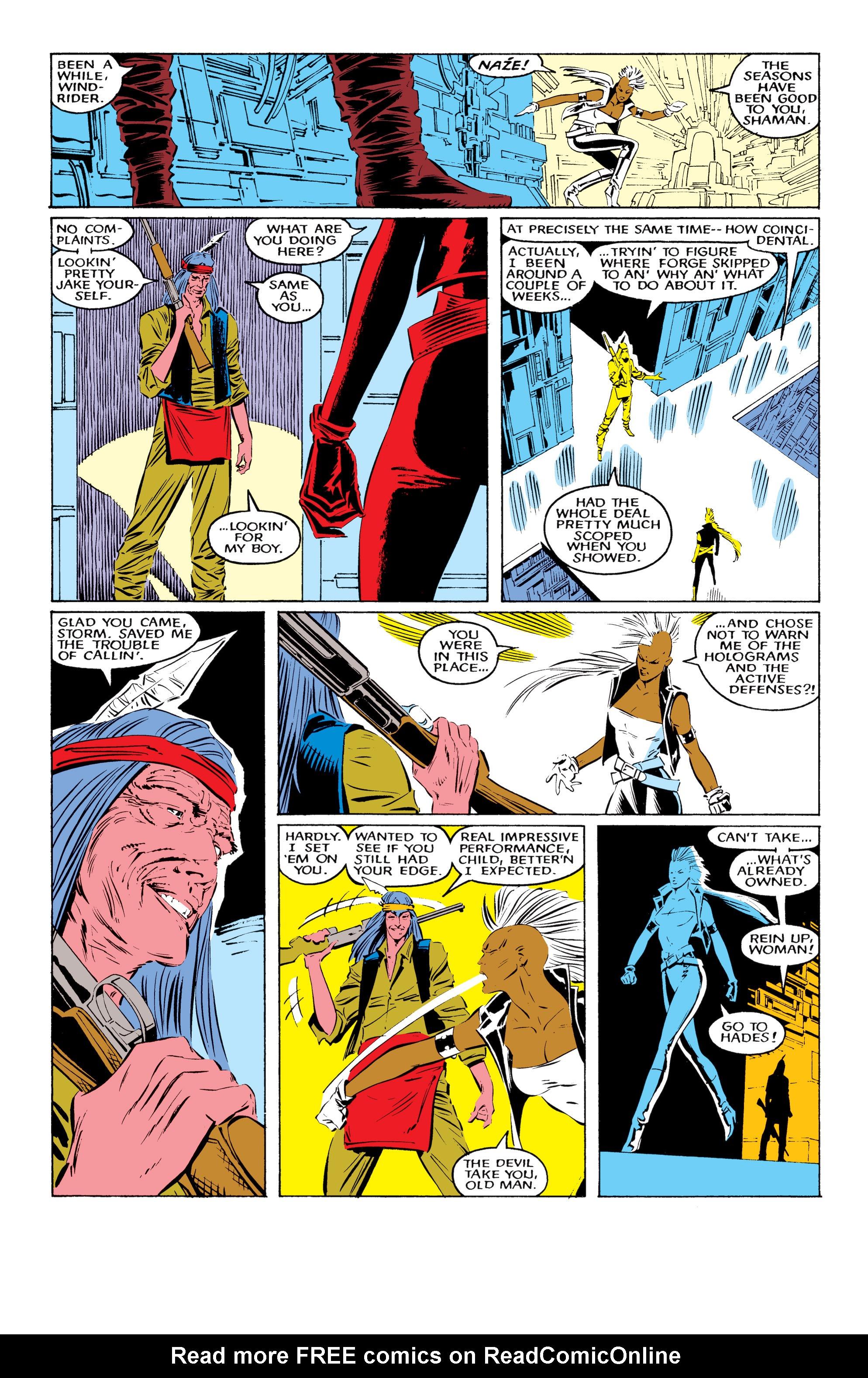 Read online Uncanny X-Men (1963) comic -  Issue #220 - 19