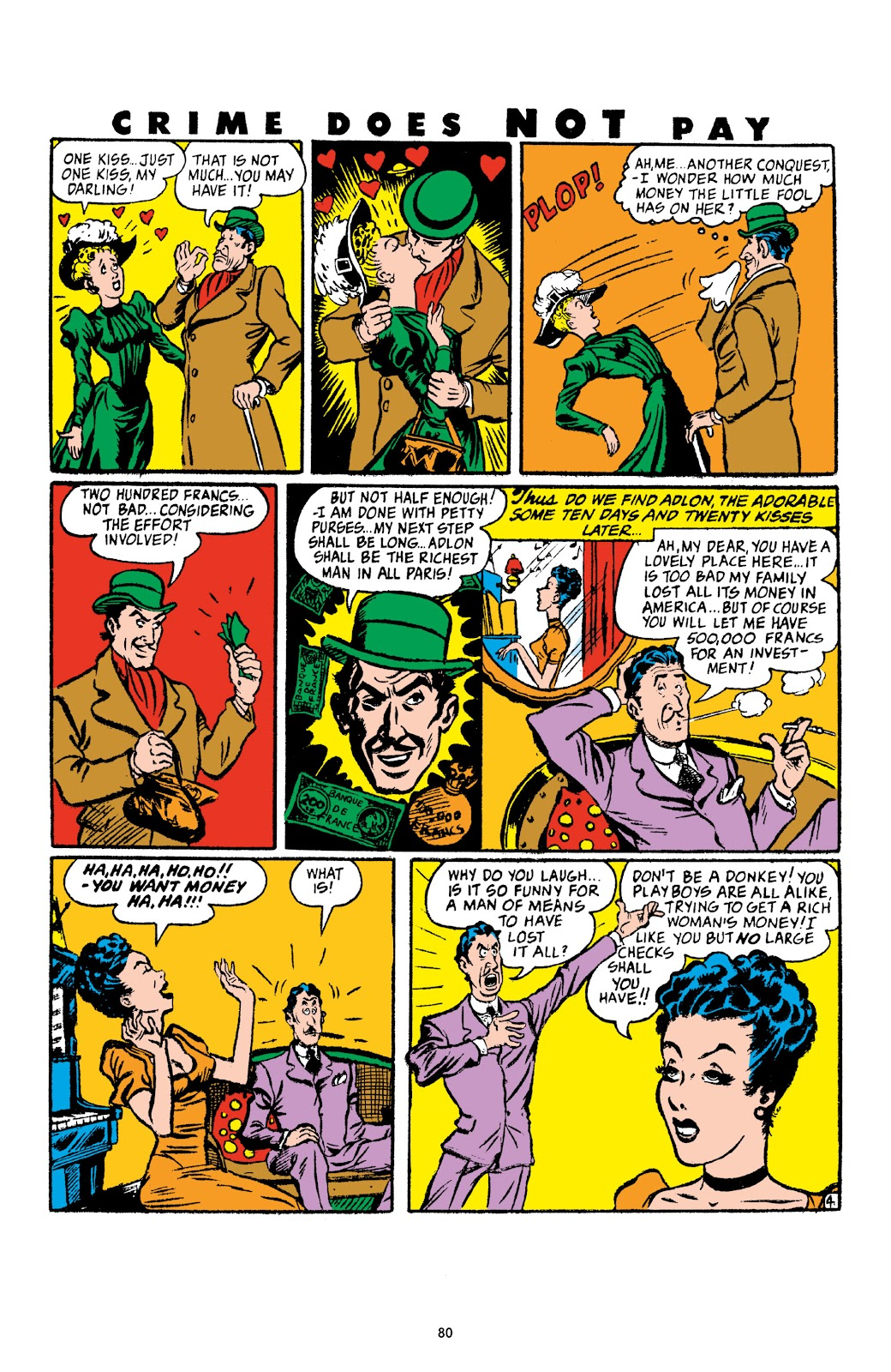 Read online Crime Does Not Pay Archives comic -  Issue # TPB 4 (Part 1) - 80