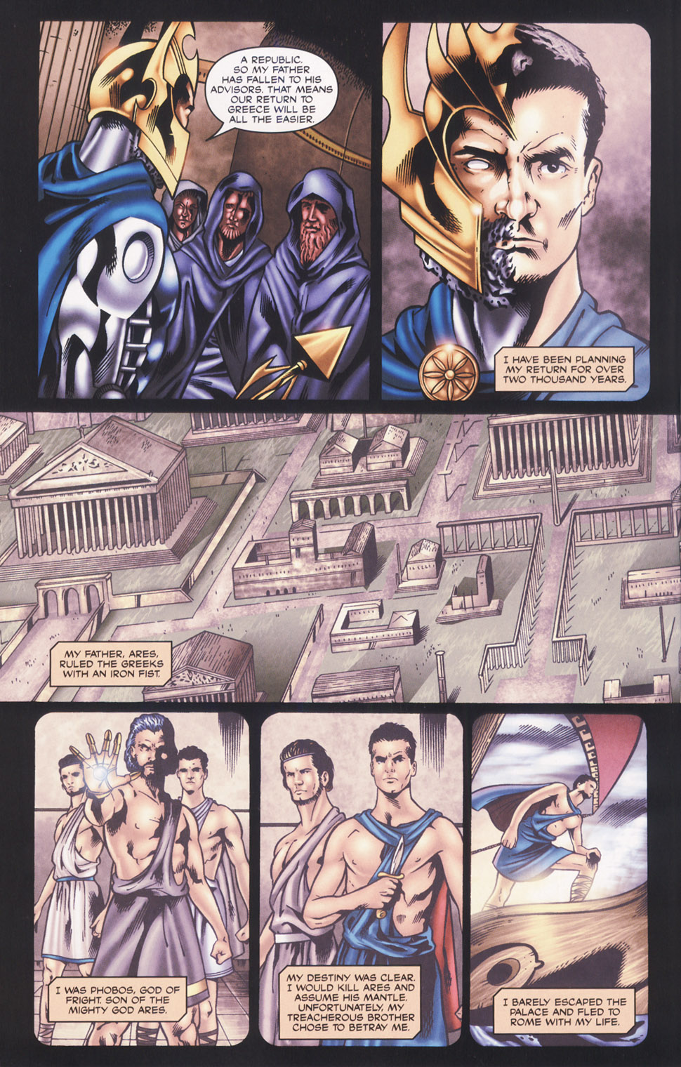 Read online Stargate SG-1: Fall of Rome comic -  Issue #2 - 12