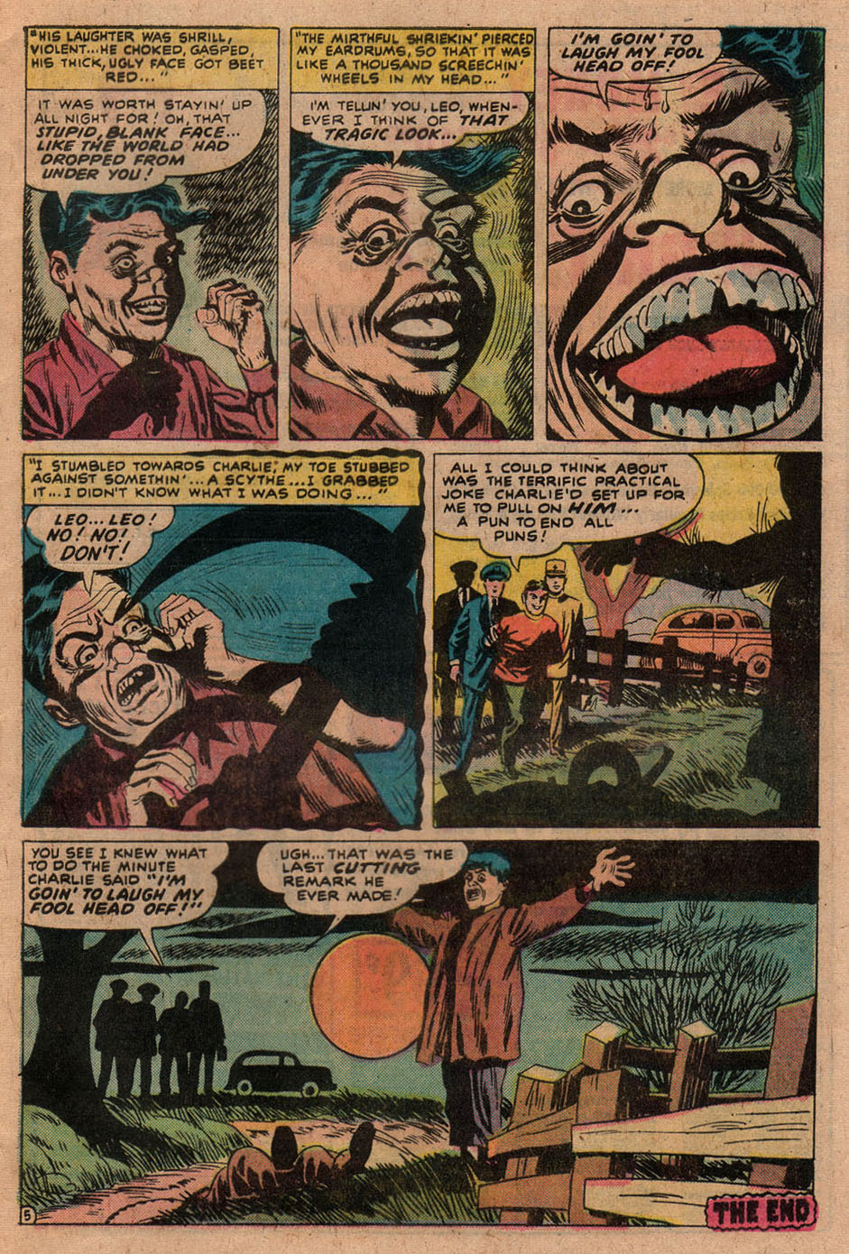 Read online Adventures into Weird Worlds comic -  Issue #9 - 21