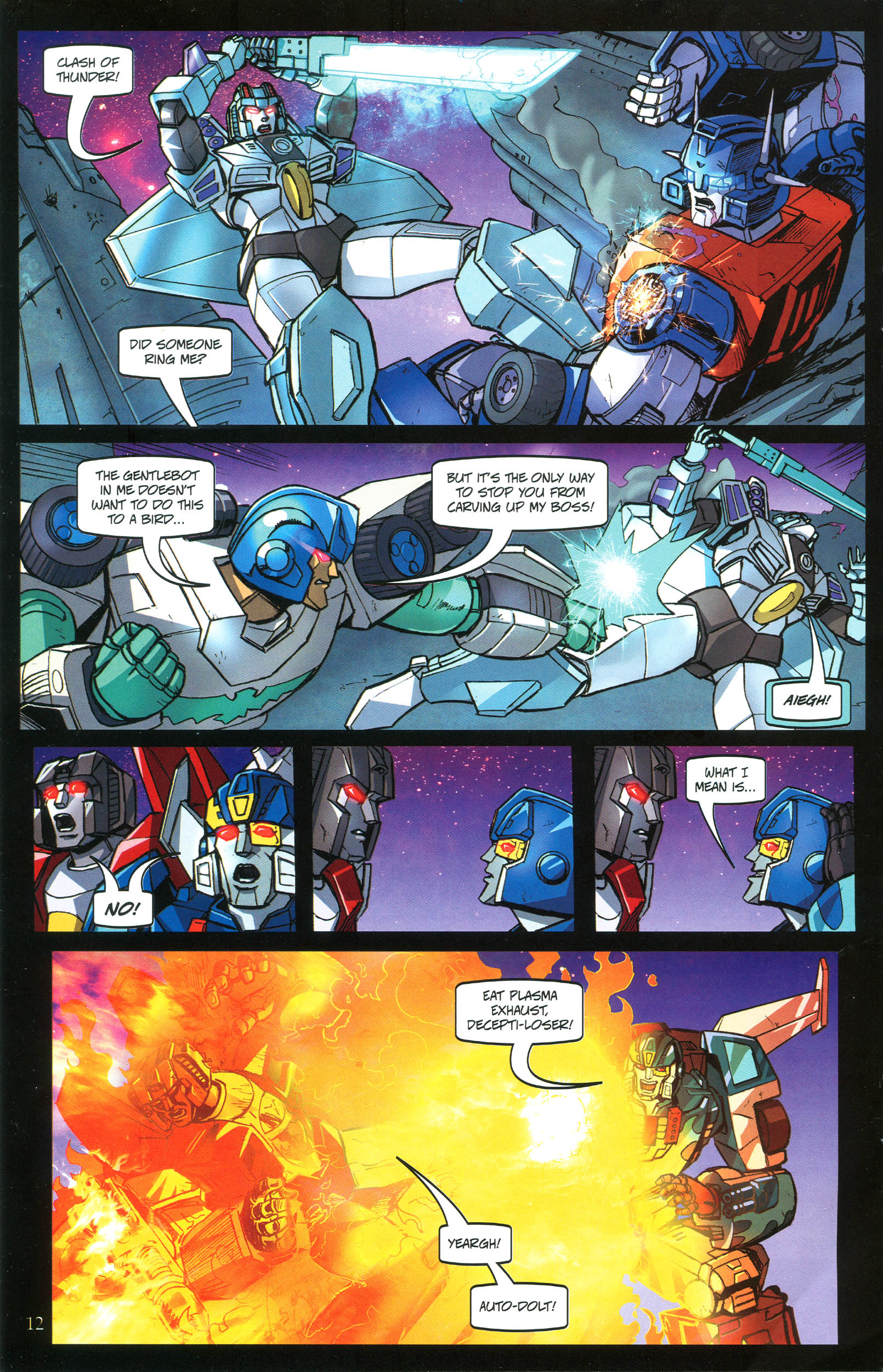 Read online Transformers: Collectors' Club comic -  Issue #40 - 12