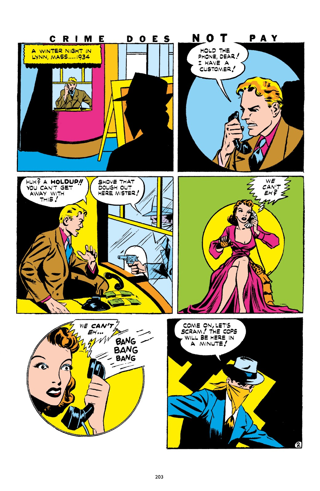 Read online Crime Does Not Pay Archives comic -  Issue # TPB 1 (Part 3) - 6