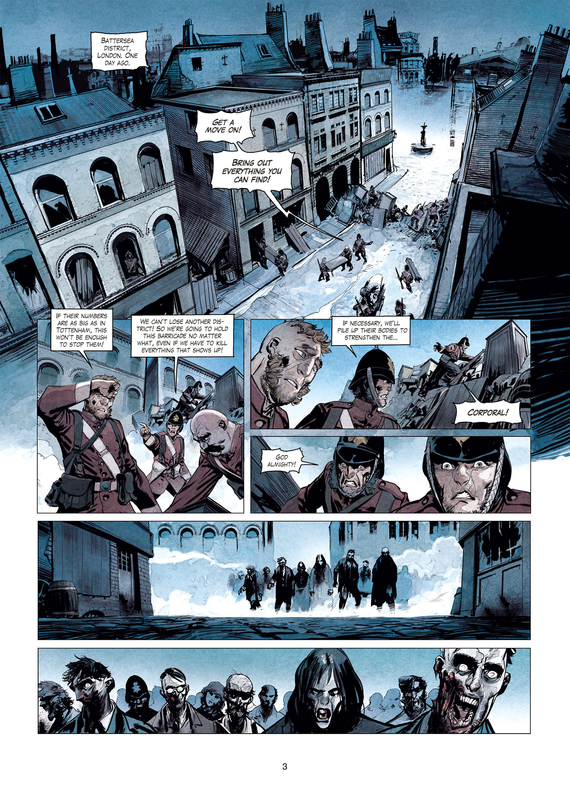 Read online Sherlock Holmes Society Tome 4 : Contamination comic -  Issue # Full - 3