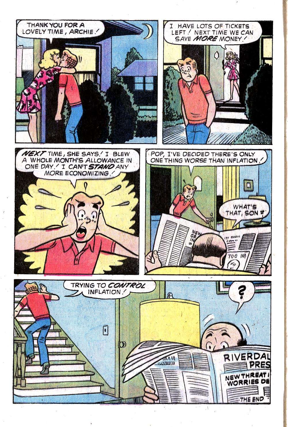Read online Archie (1960) comic -  Issue #245 - 8