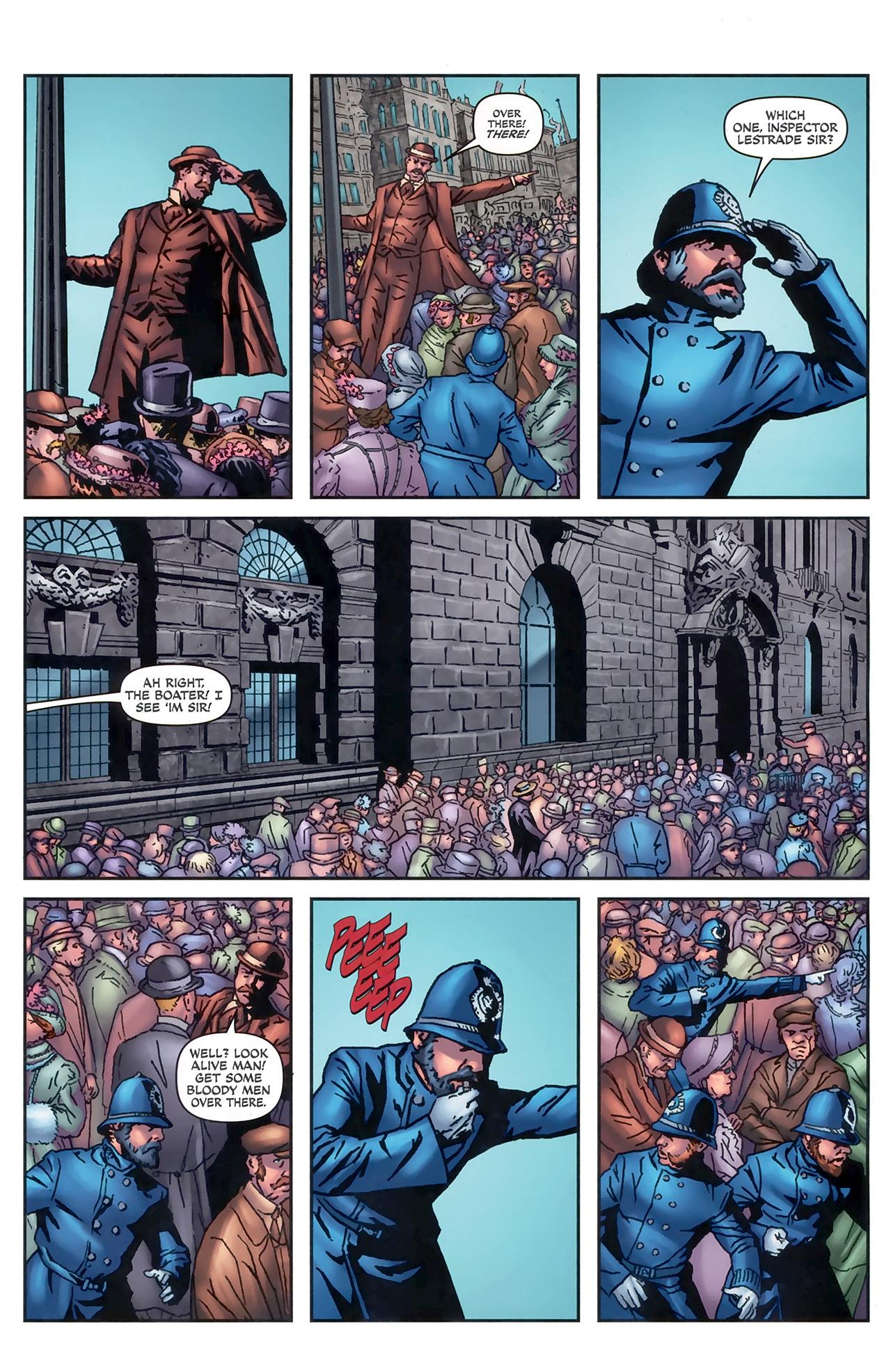 Read online Sherlock Holmes (2009) comic -  Issue #5 - 15