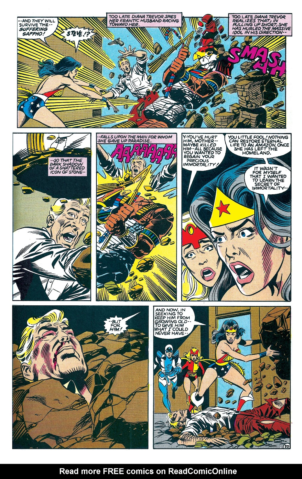Infinity Inc. (1984) issue 7 - Page 20