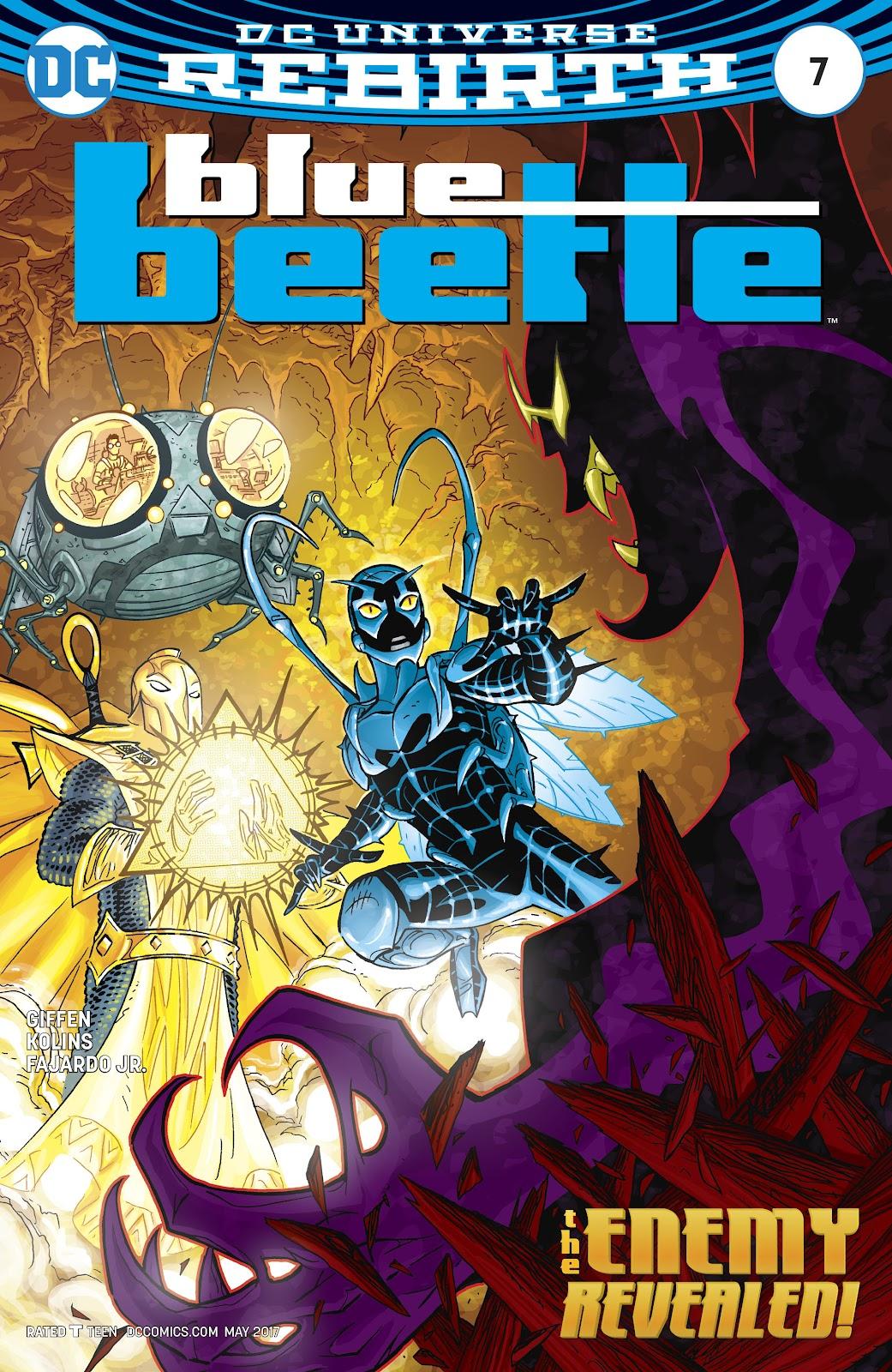 Blue Beetle (2016) 7 Page 1