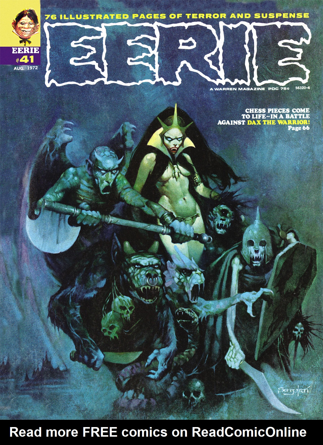 Read online Eerie Archives comic -  Issue # TPB 8 - 246